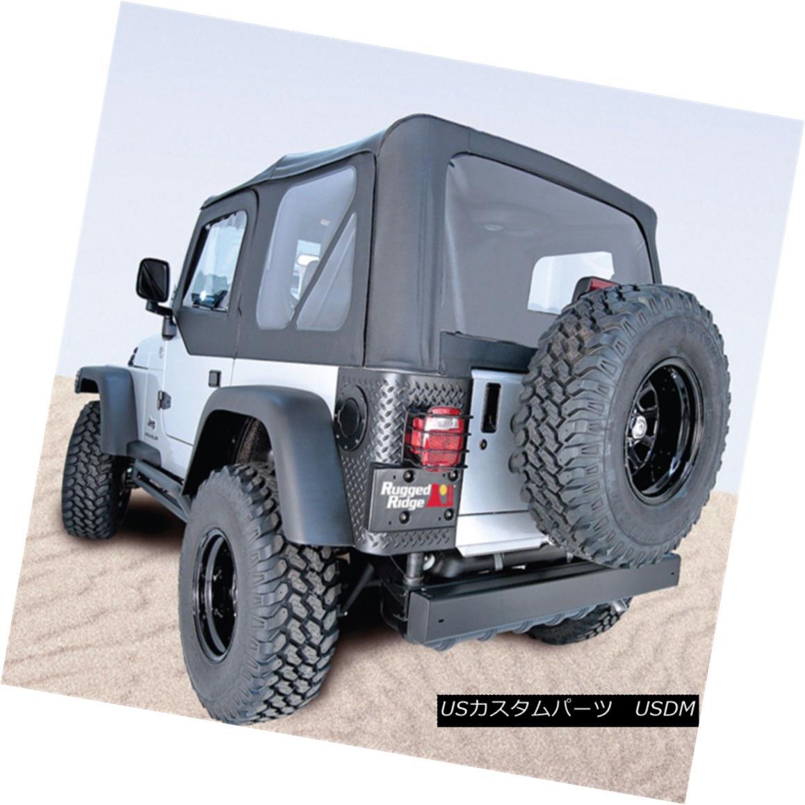 幌・ソフトトップ Rugged Ridge 13731.35 XHD Soft Top Fits 04-06 Wrangler (LJ) 頑丈なリッジ13731.35 XHDソフトトップフィット04-06ラングラー(LJ)