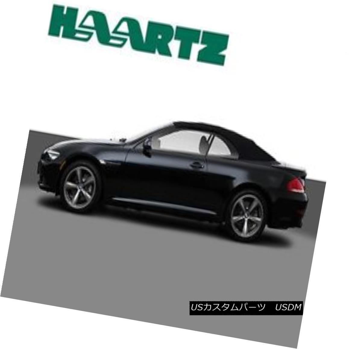 幌・ソフトトップ BMW 6 Series Convertible Soft Top Replacement E64 HAARTZ Cloth Material 04-10 BMW 6シリーズコンバーチブルソフトトップ交換E64 HAARTZクロス素材04-10