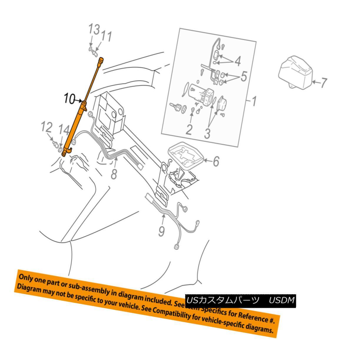 幌・ソフトトップ AUDI OEM TT Quattro Motor-Convertible/soft Top-Hydraulic Cylndr Left 8N7871795A AUDI OEM TTクワトロ・モーター・コンバーチブル/ WB /ソフト・トップ・油圧シリンダ左8N7871795A