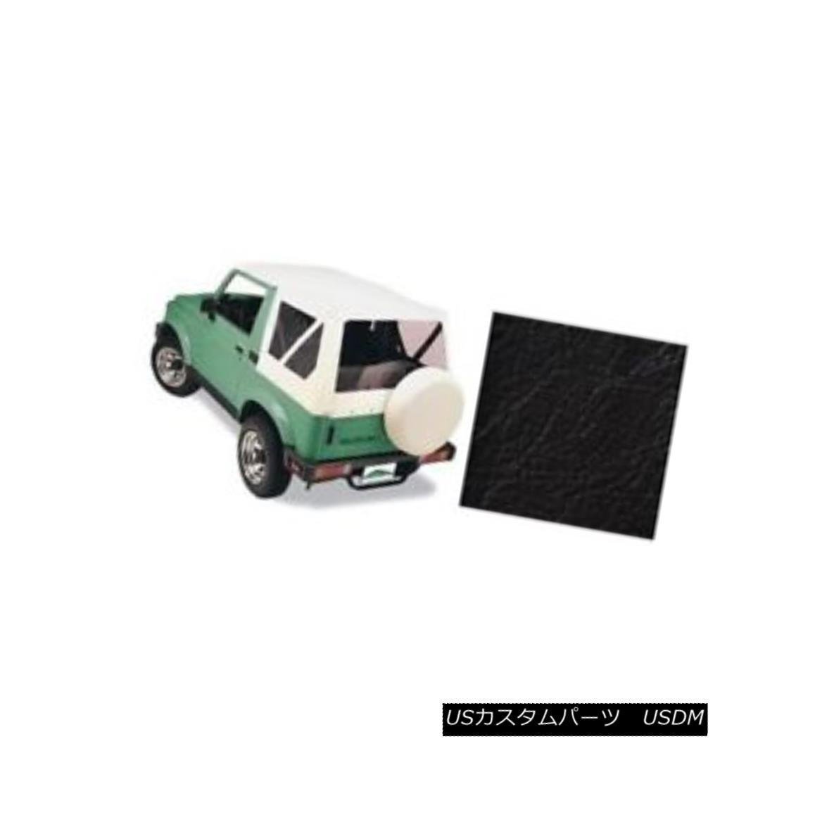 幌・ソフトトップ Pavement Ends 51133-01 Replay Soft Top Black 1989 Suzuki Samurai 舗装端51133-01リプレイソフトトップブラック1989スズキサムライ