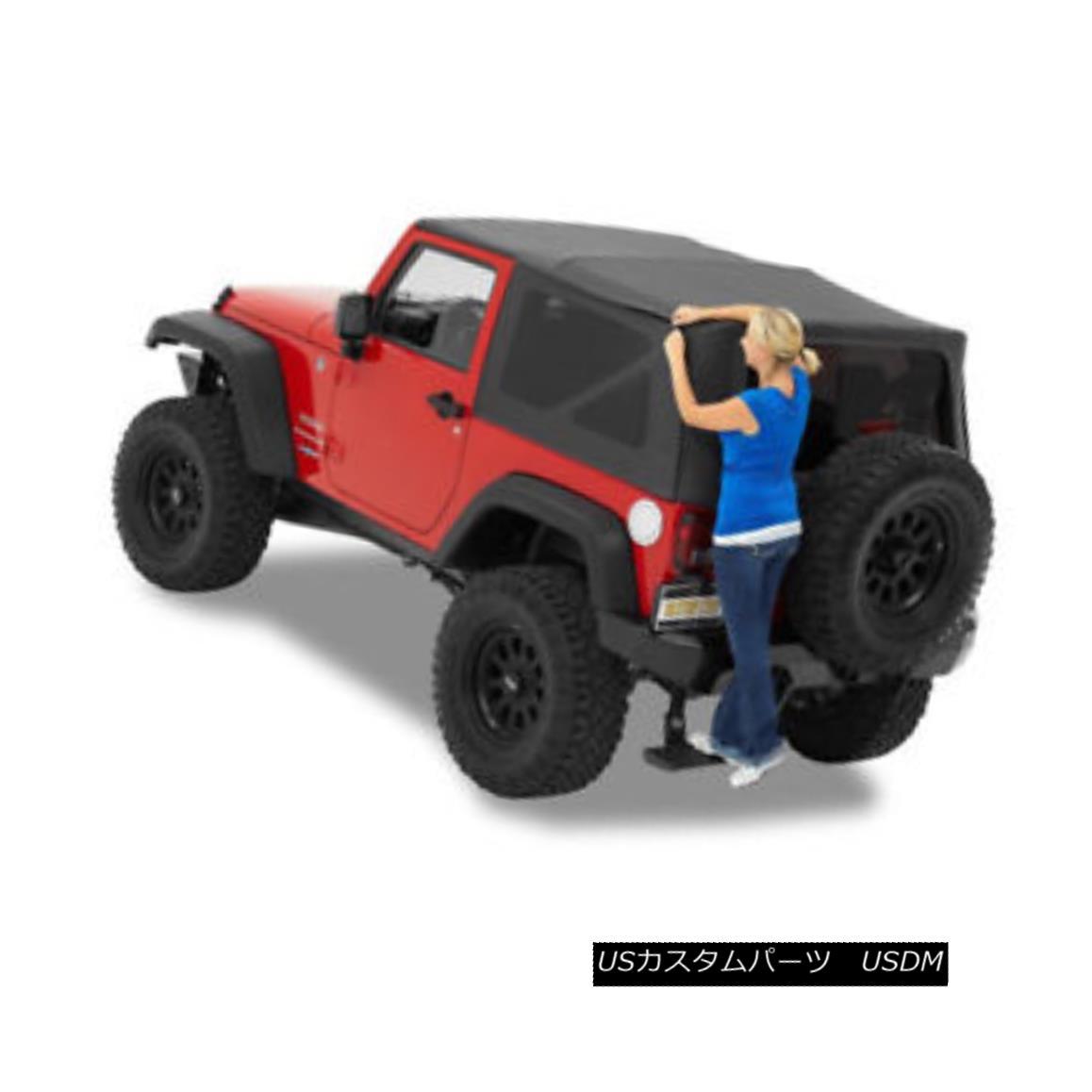 幌・ソフトトップ Bestop 5472235 Wrangler JK Complete Replacement Soft Top Supertop NX Black Diamo Bestop 5472235ラングラーJK完全交換用ソフトトップスーパートップNXブラックダイアモンド