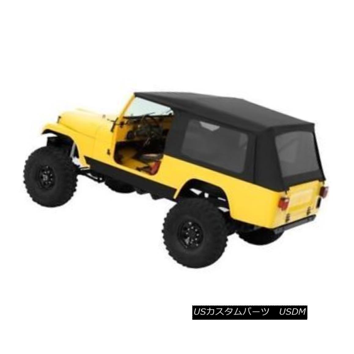 幌・ソフトトップ Bestop Classic Supertop 81-85 CJ-8 Scrambler Doors Tint Windows Black Denim Bestop Classic Supertop 81-85 CJ-8スクランブラドアティントウィンドウブラックデニム
