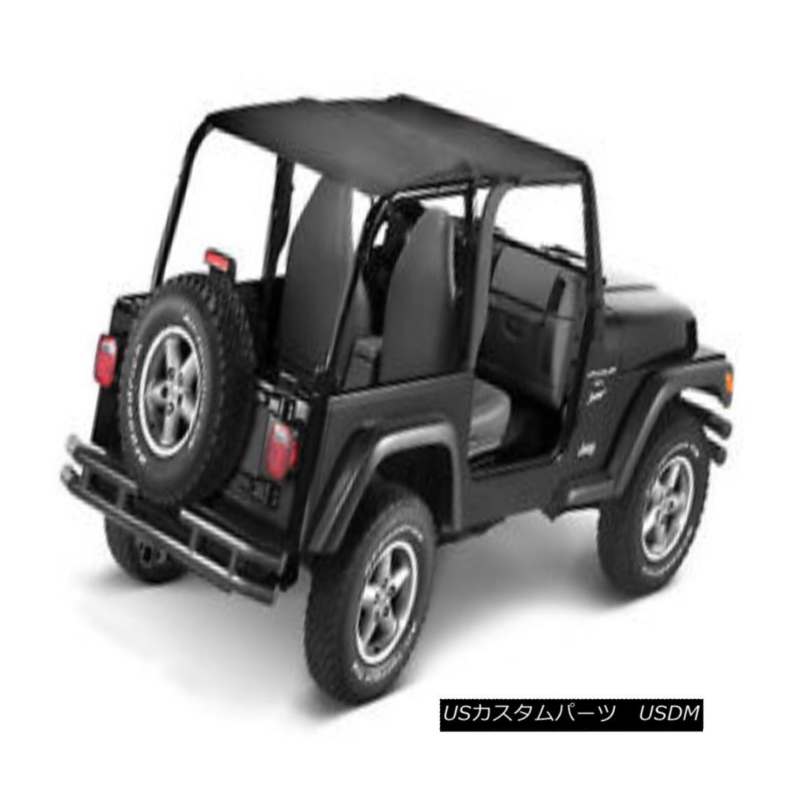 幌・ソフトトップ Bestop Bikini Safari Version for 1992-1995 Jeep Wrangler YJ Black Denim 52529-15 ベスト・ビキニ・サファリ・バージョン1992-1995ジープ・ラングラーYJブラック・デニム52529-15