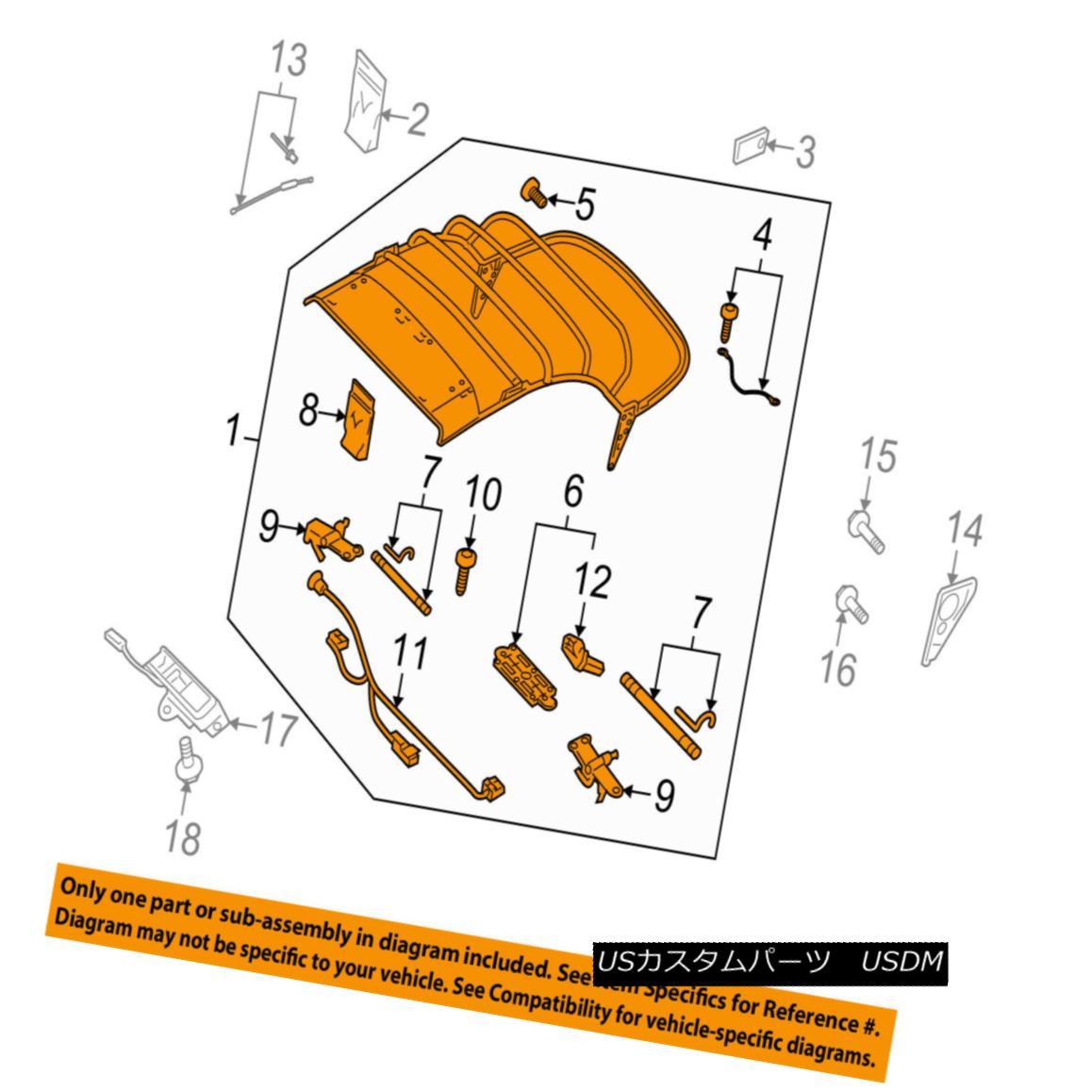 幌・ソフトトップ AUDI OEM 10-17 A5 Quattro Convertible/soft Top-Top Frame 8F0871025C AUDI OEM 10-17 A5 Quattro Convertible / so ftトップトップフレーム8F0871025C