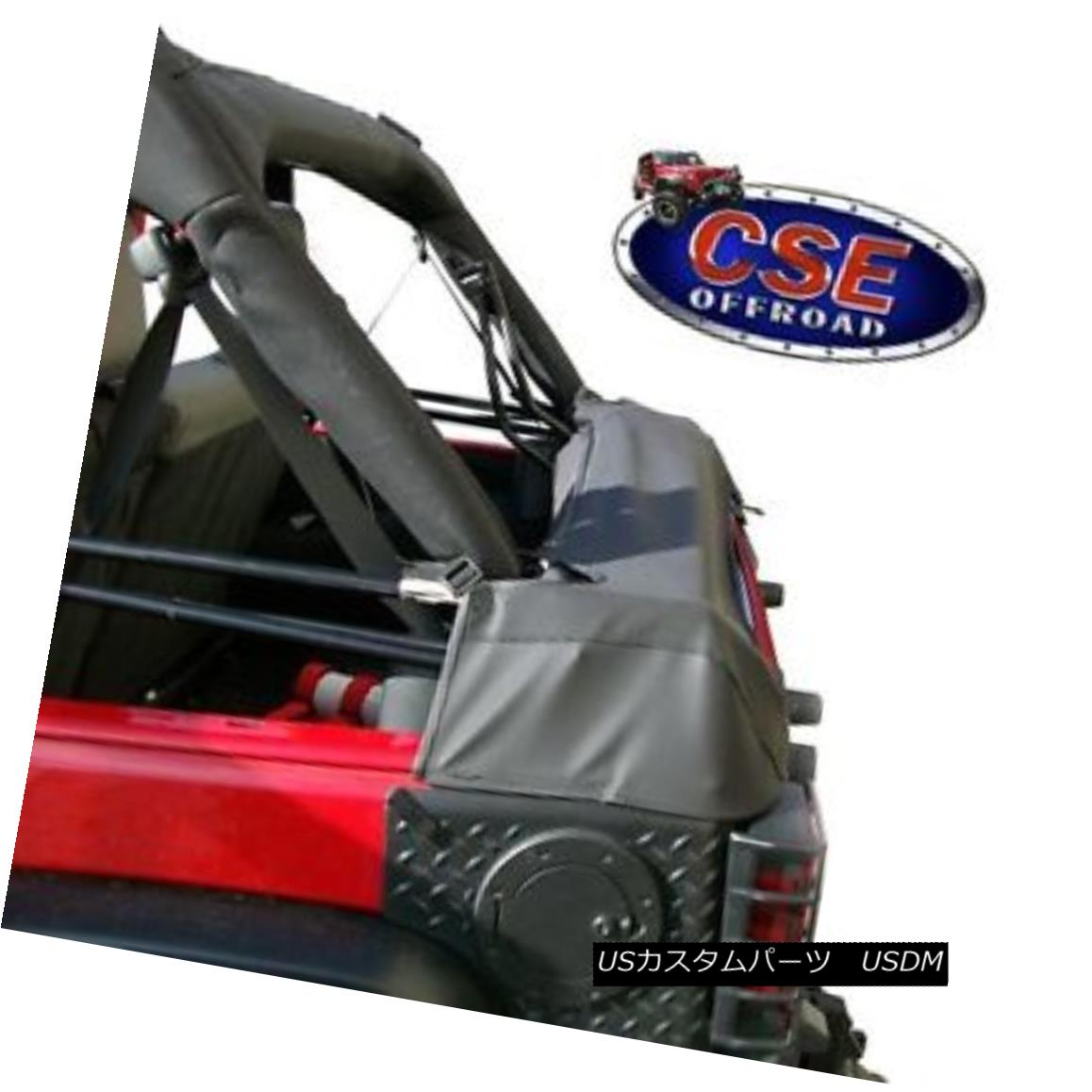 幌・ソフトトップ Soft Top Storage Boot Fits Jeep Wrangler JK 2007-16 2 Door 12104.50 Rugged Ridge ソフトトップストレージブーツフィットジープラングラーJK 2007-16 2ドア12104.50険しい尾根