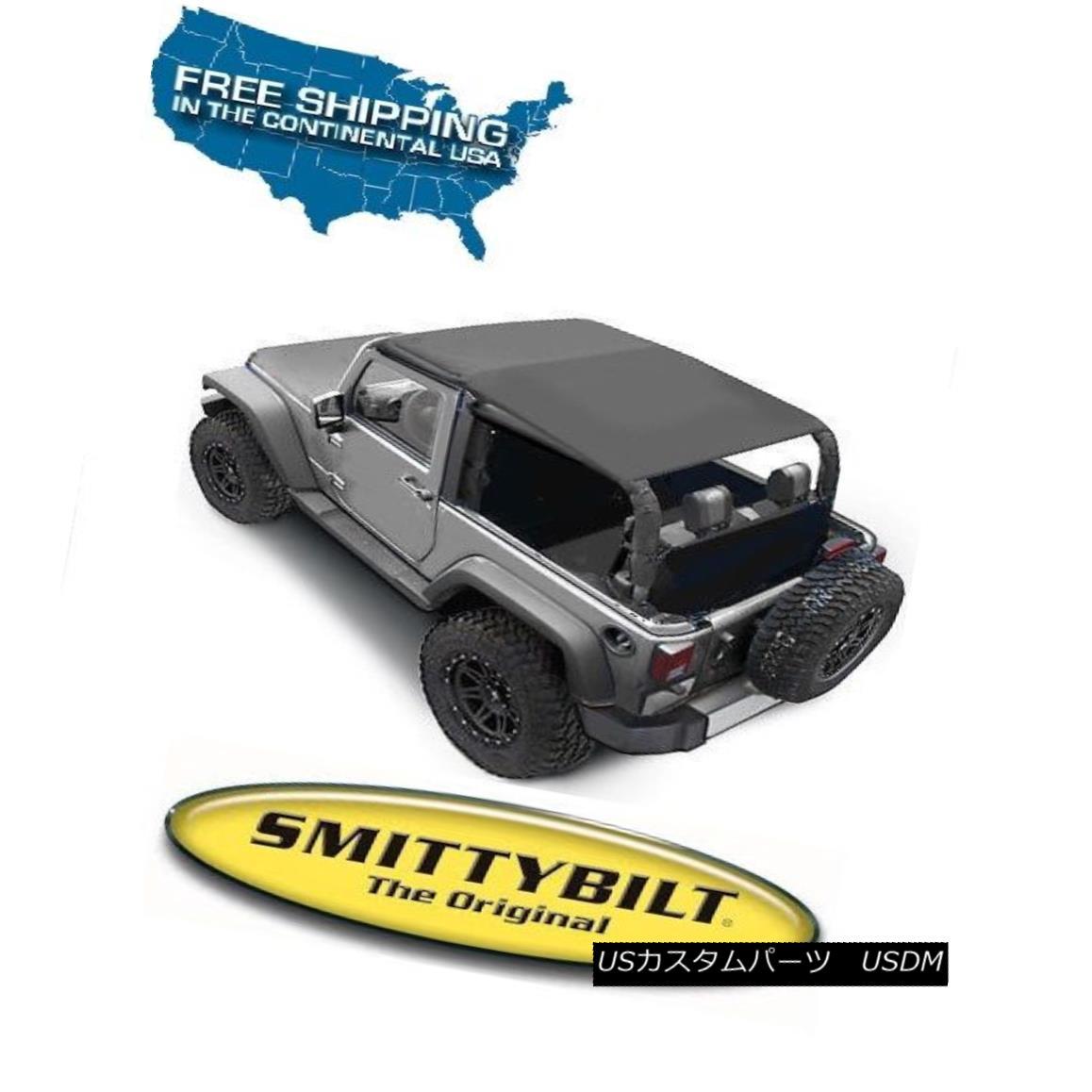 Smittybilt Extended Top in Black Diamond 2007-2009 2dr Jeep Wrangler JK 94135