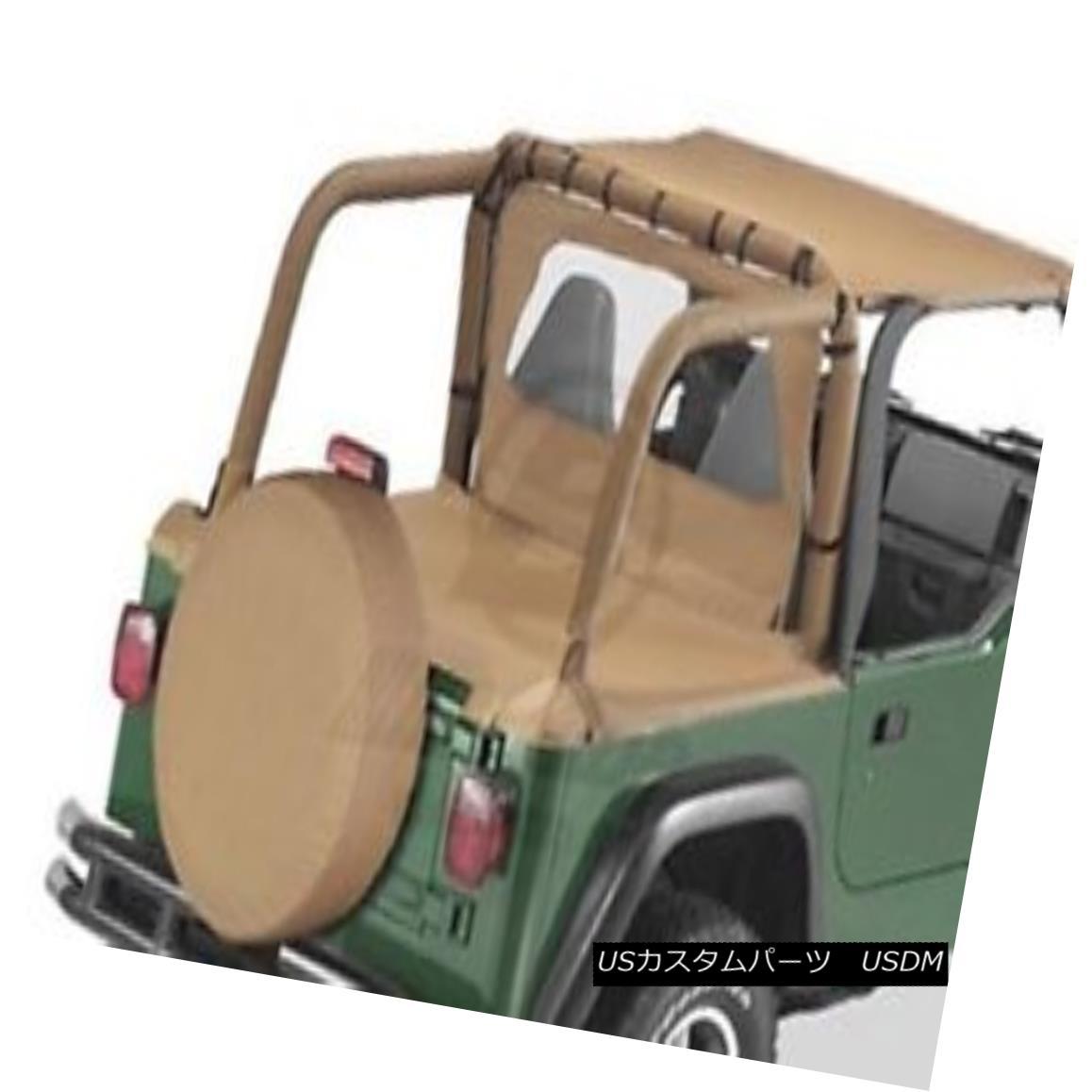 幌・ソフトトップ Bestop Duster Deck Cover 97-02 Jeep Wrangler TJ Spice w/ Factory Soft Top Bestopダスターデッキカバー97-02 Jeep Wrangler TJスパイス