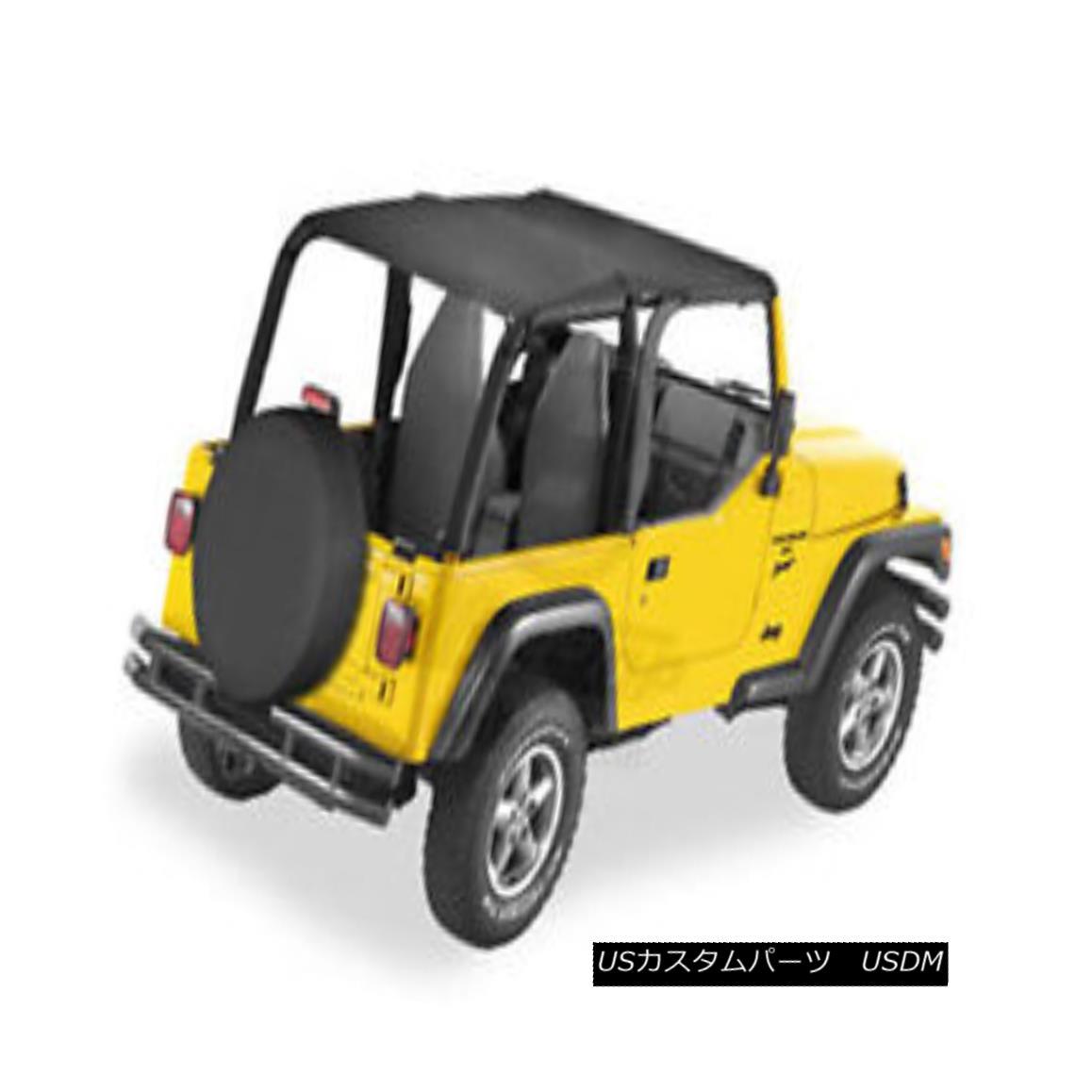 幌・ソフトトップ Bestop Bikini Safari Version for 1997-2002 Jeep Wrangler TJ Black Denim 52530-15 Bestopビキニサファリバージョン1997-2002ジープラングラーTJブラックデニム52530-15
