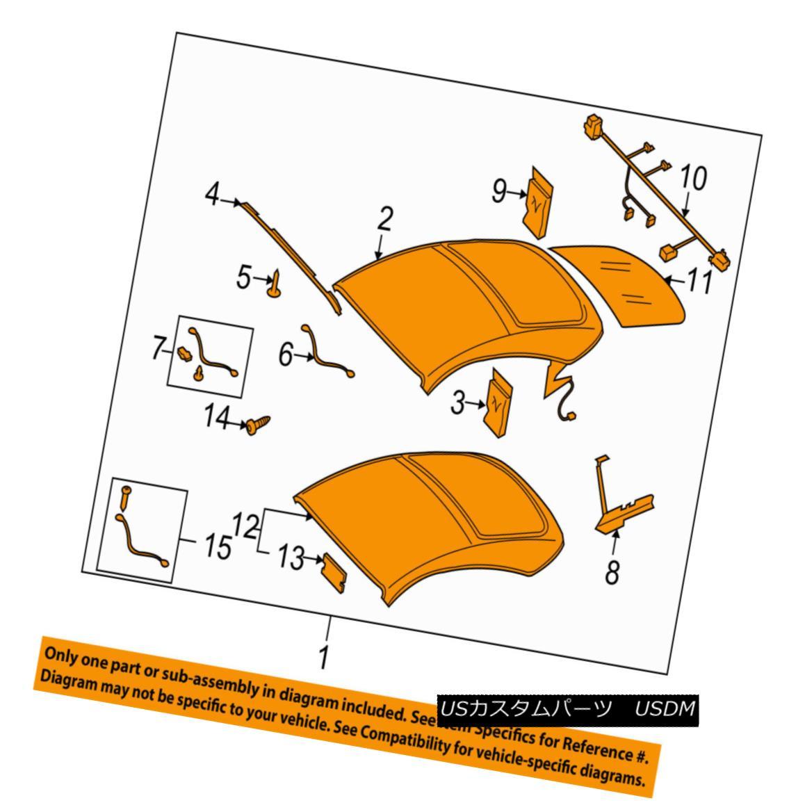 幌・ソフトトップ AUDI OEM 2008 TT Convertible Soft Top-Roof Assy 8J7871011A2Y5 AUDI OEM 2008 TTコンバーチブルソフトトップルーフアッシー8J7871011A2Y5