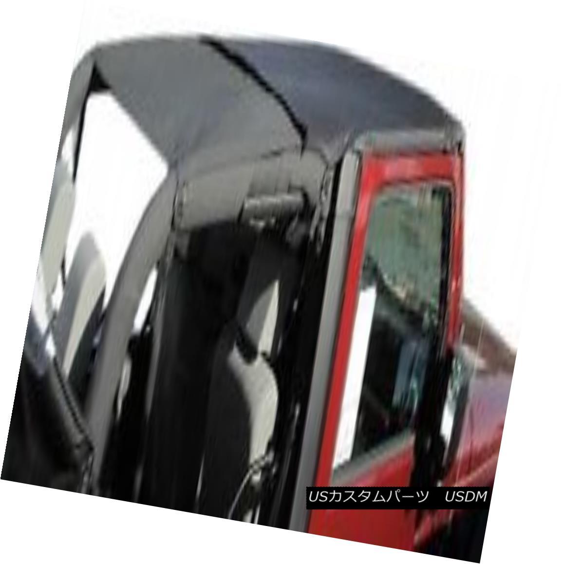 幌・ソフトトップ Rampage Combo Brief & Topper 07-18 Jeep Wrangler JK 2 Door 94835 Black Diamond ランペイジコンボブリーフ& トッパー07-18ジープラングラーJK 2ドア94835ブラックダイヤモンド