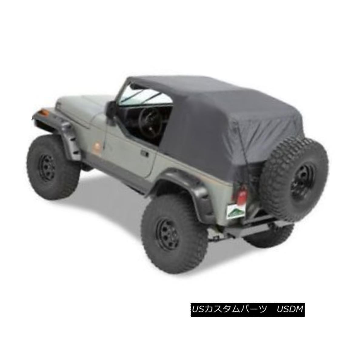 幌・ソフトトップ Pavement Ends 56811-01 Emergency Jeep Soft Top (Black) For 92-95 Wrangler 舗装端56811-01緊急ジープソフトトップ(ブラック)92-95ラングラー用