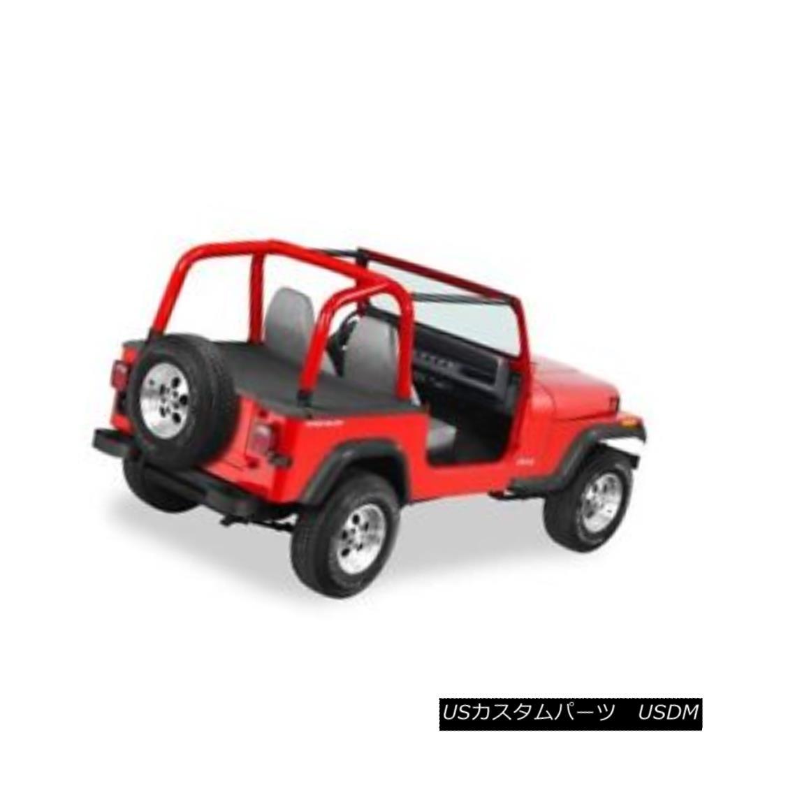 幌・ソフトトップ Bestop 90002-15 Duster Deck Cover For 86-91 Jeep Wrangler YJ w/ Factory Soft Top Bestop 90002-15ダスターデッキカバー86-91用ジープラングラーYJファクトリーソフトトップ