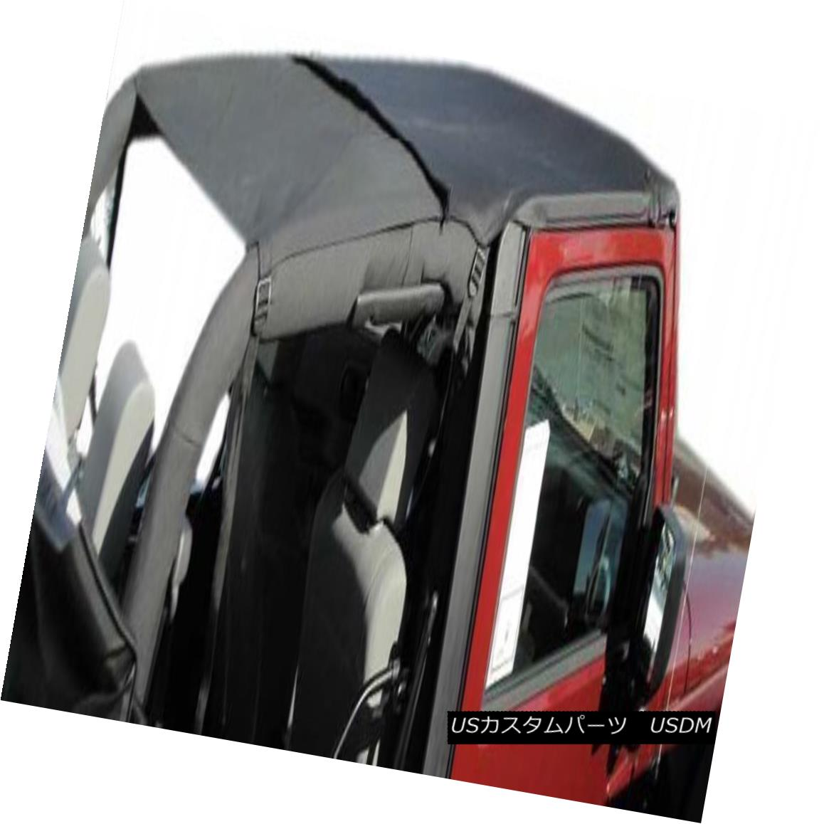 幌・ソフトトップ Rampage Combo Brief & Topper 07-15 Jeep Wrangler JK 2 Door 94835 Black Diamond ランペイジコンボブリーフ& トッパー07-15ジープラングラーJK 2ドア94835ブラックダイヤモンド