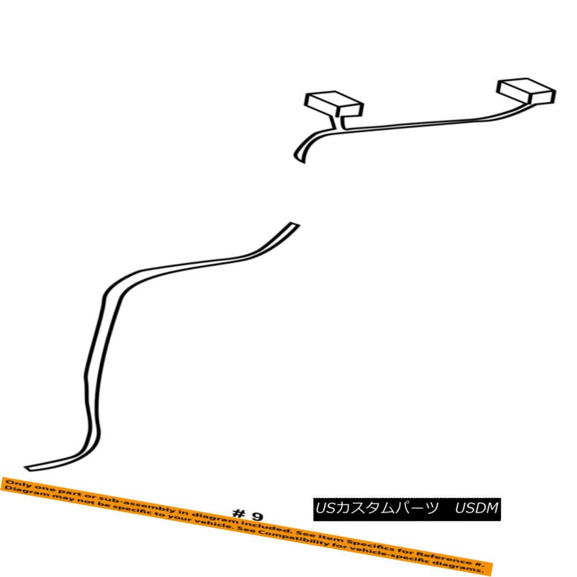 幌・ソフトトップ Dodge CHRYSLER OEM 2003 Viper Convertible/soft Top-Tension Cable 5093071AA Dodge CHRYSLER OEM 2003 Viper Convertible / so ftトップテンションケーブル5093071AA