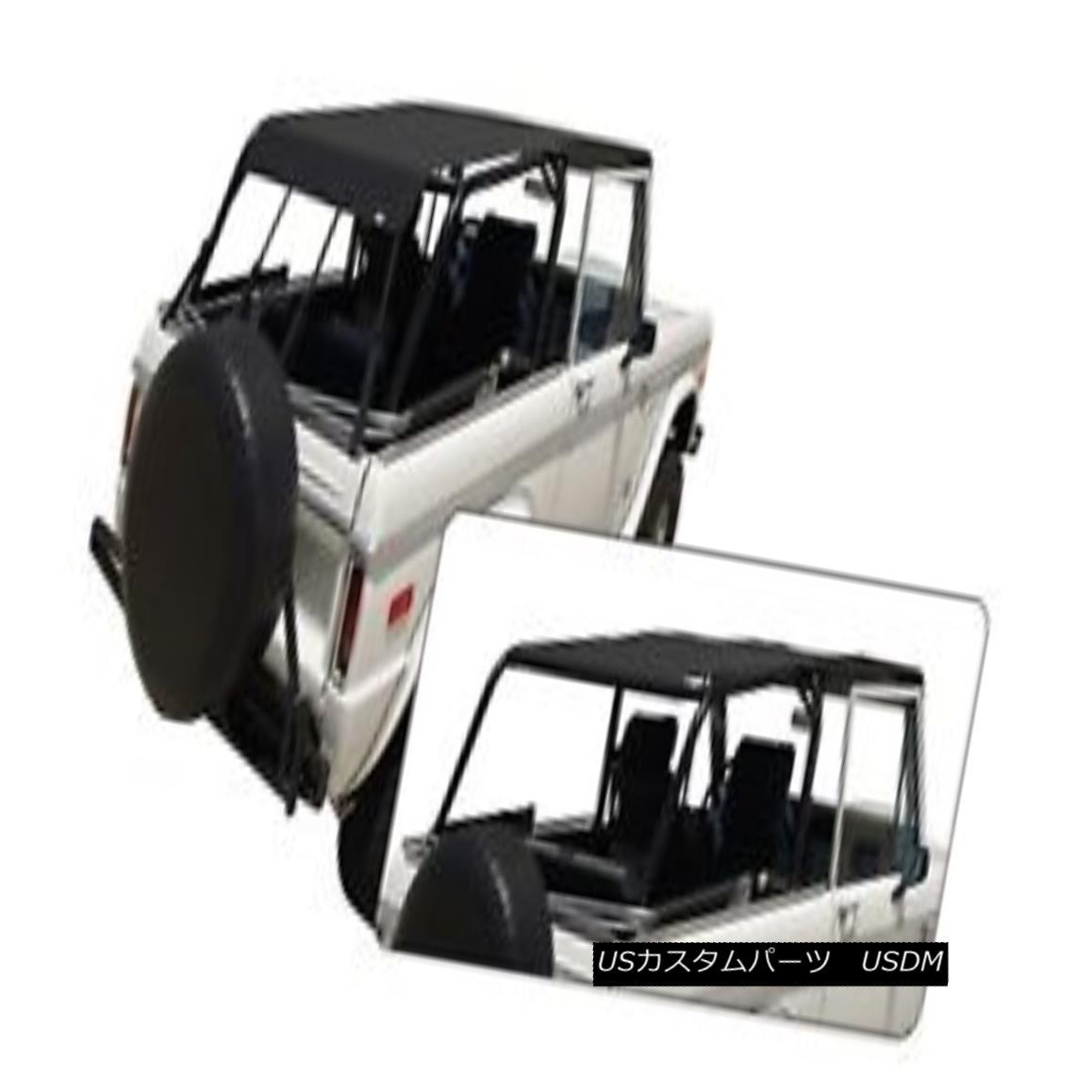 幌・ソフトトップ Rampage 98235 Safari Island Topper; Soft Top 66-67 Bronco 暴走98235サファリ島トッパー; ソフトトップ66-67ブロンコ
