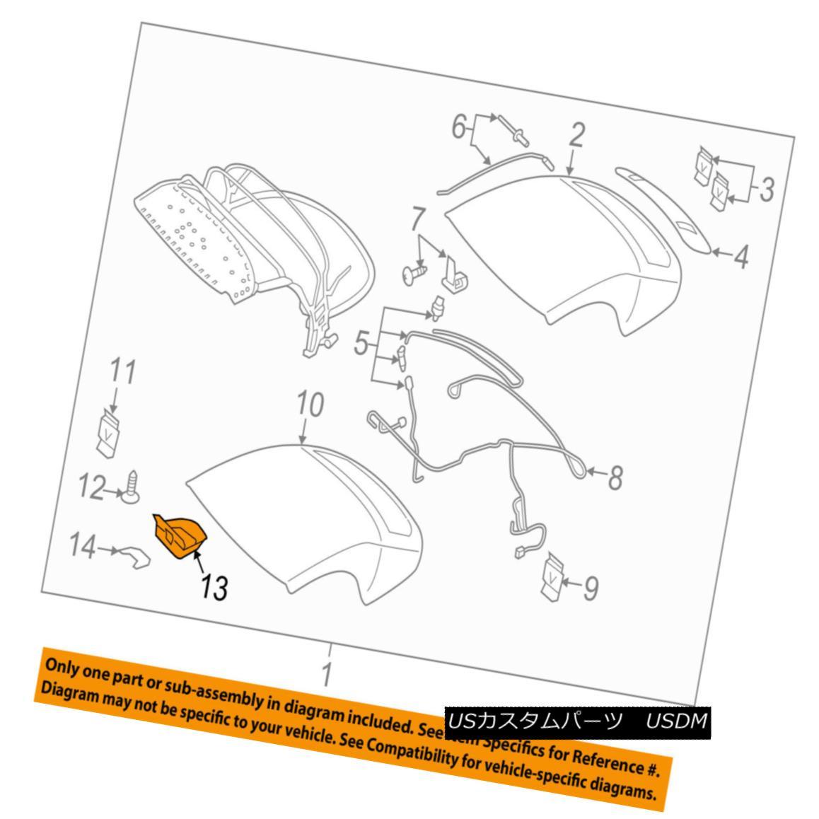 幌・ソフトトップ AUDI OEM 16-17 TT Quattro Convertible/soft Top-Support 8S7871277 AUDI OEM 16-17 TT Quattro Convertible / so ftトップサポート8S7871277