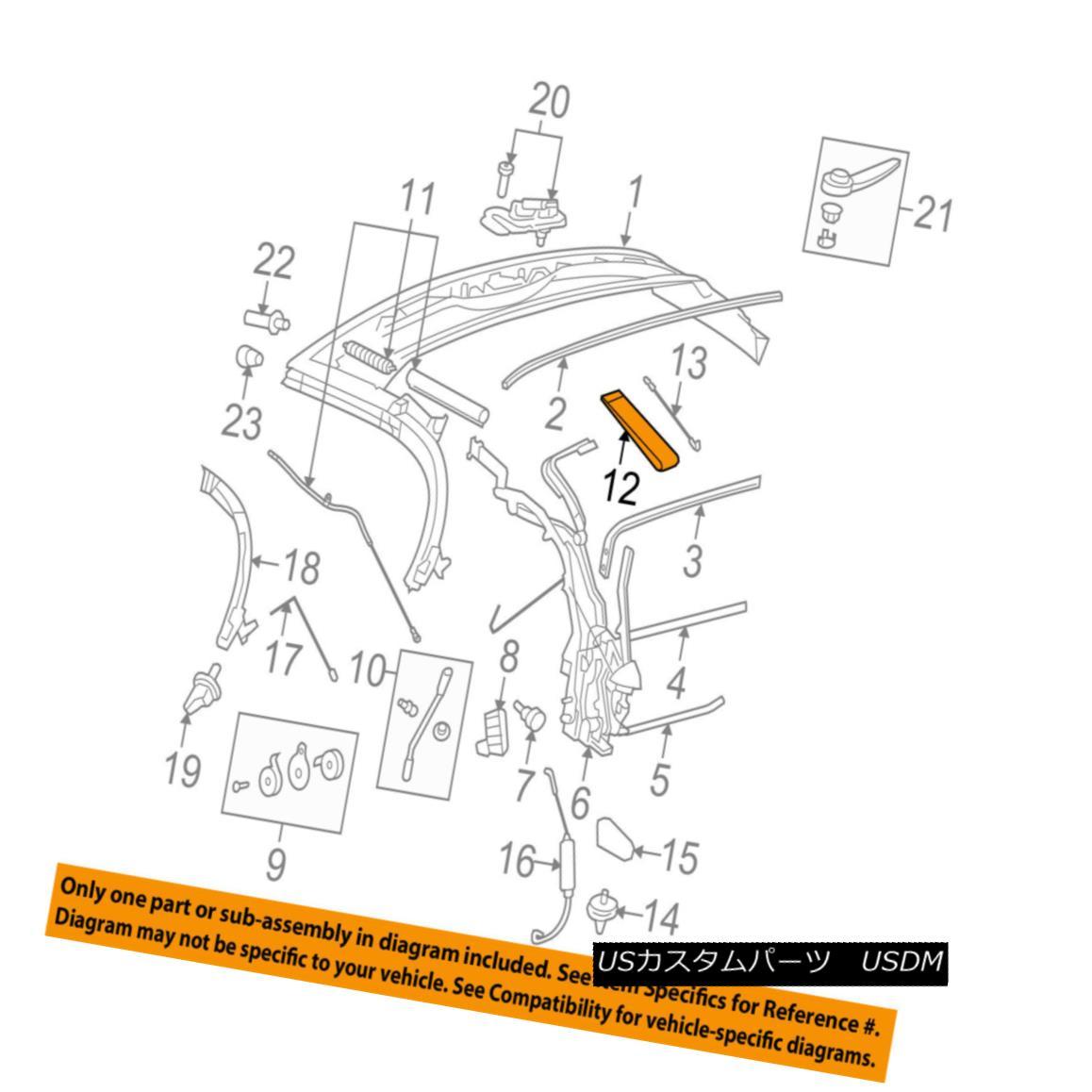 幌・ソフトトップ GM OEM Convertible/soft Top-Strap 19120273 GMのOEMのコンバーチブル/ so ftトップストラップ19120273