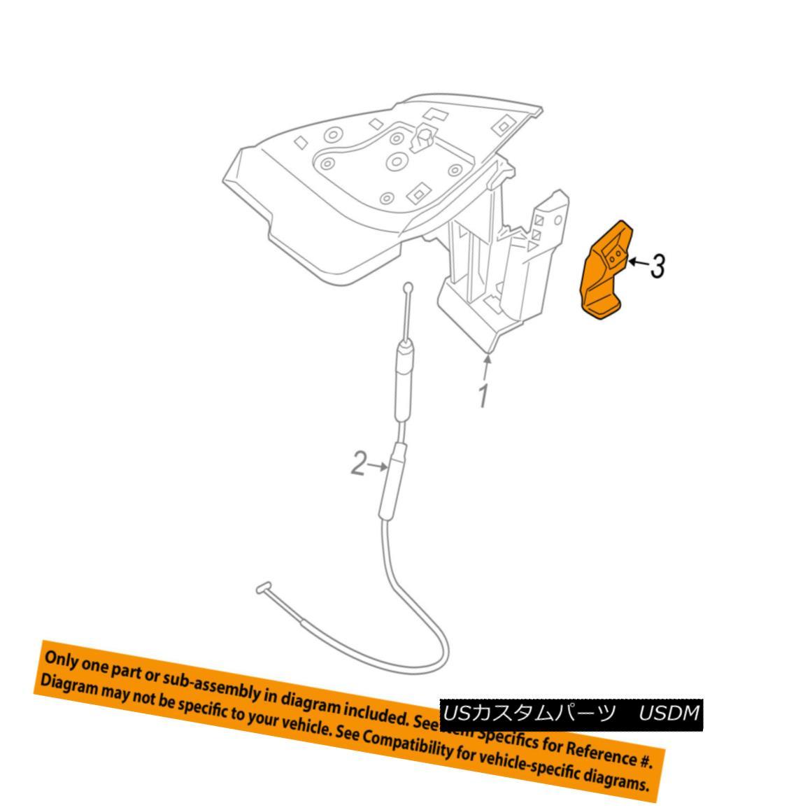 幌・ソフトトップ PORSCHE OEM 13-16 Boxster Stowage Compartment-Soft Top-Locator Right 98158046402 PORSCHE OEM 13-16 Boxster Stowage Compartment-So ftトップロケータの権利98158046402