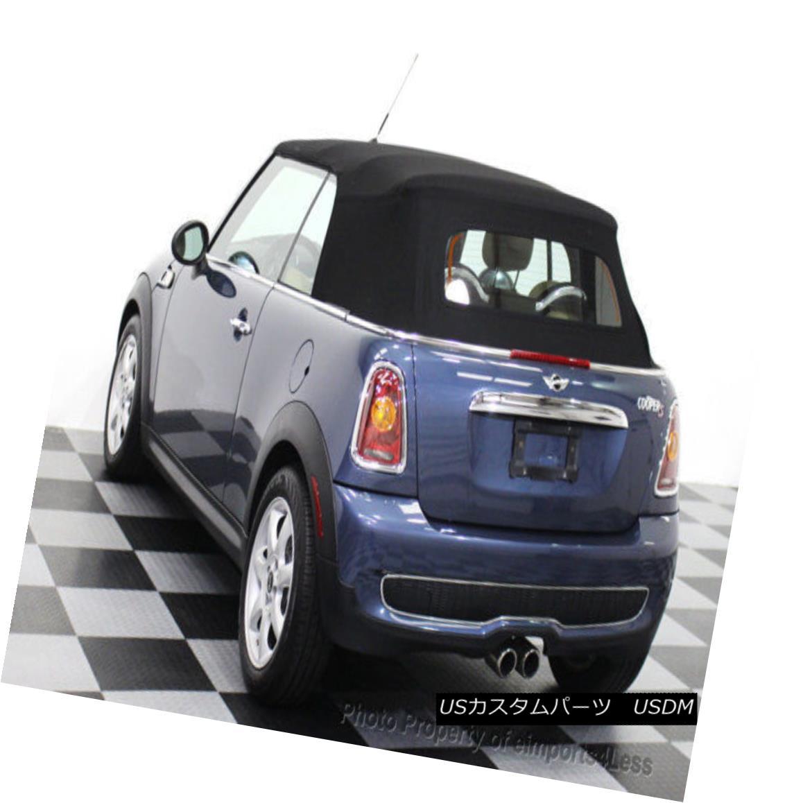 幌・ソフトトップ 2009-2015 Mini Cooper Replacement Convertible Soft Top in Bordeaux 2009-2015ボルドーのミニクーパー交換コンバーチブルソフトトップ