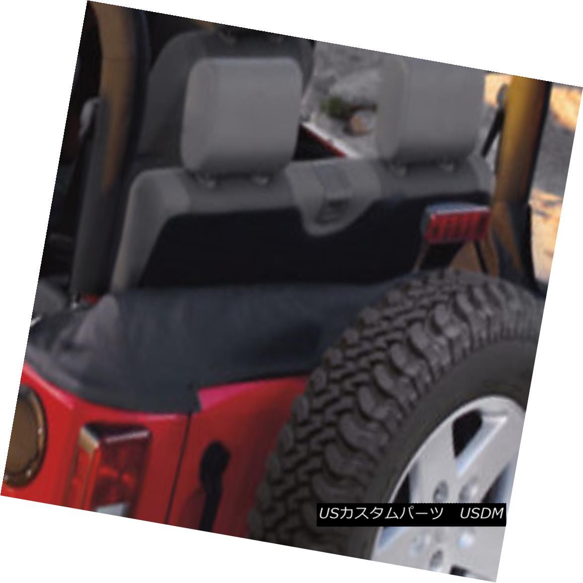 幌・ソフトトップ New OEM 07-10 JK Jeep Wrangler 2 Door Soft Top Boot w/ Storage Pouch 82209911 新しいOEM 07-10 JKジープラングラー2ドアソフトトップブーツ/ストレージポーチ82209911