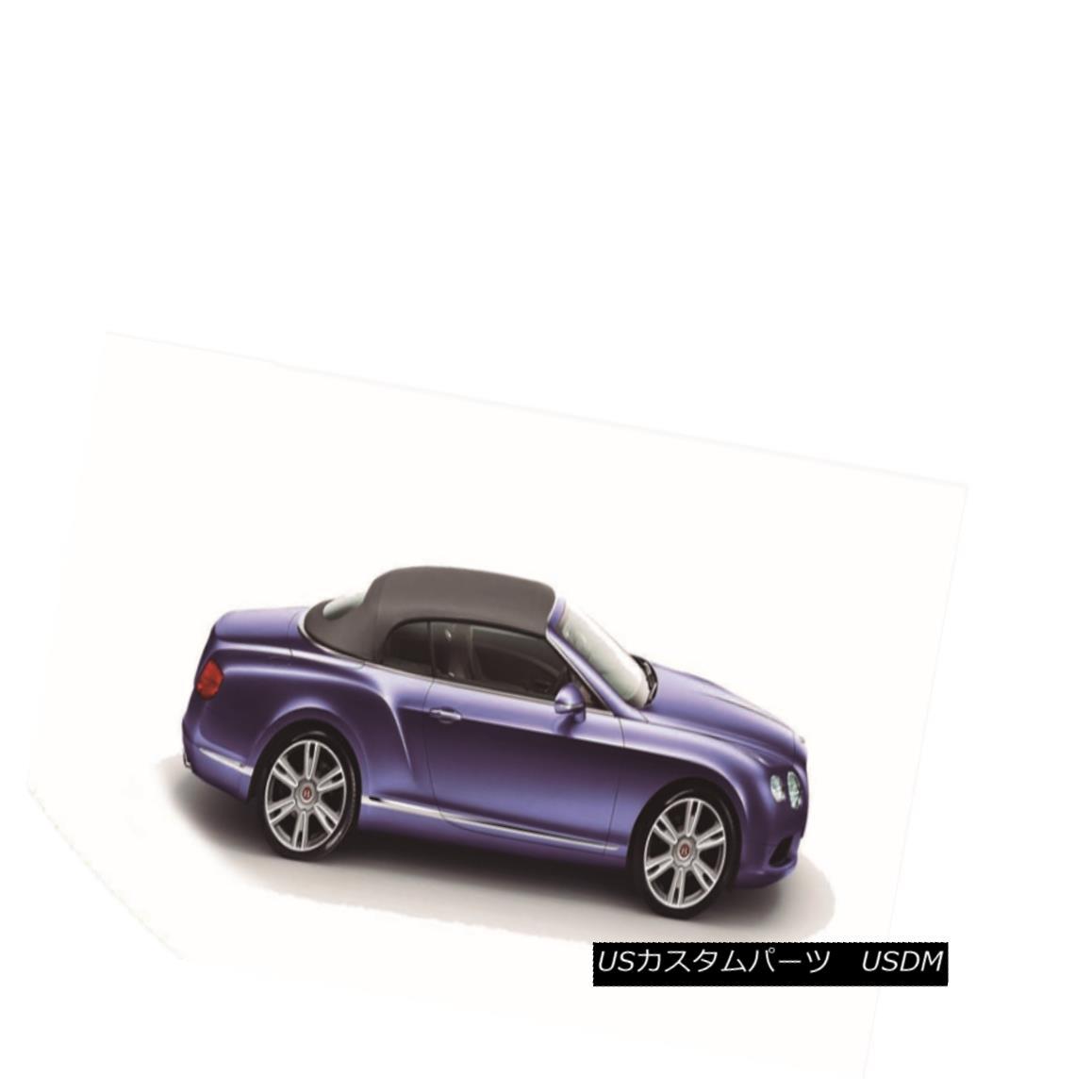 幌・ソフトトップ 2007-2014 Bentley GT GTC Replacement Convertible Soft Top- BLACK Twillfast RPC 2007-2014ベントレーGT GTC交換用コンバーチブルソフトトップ - BLACKツイルファーストRPC