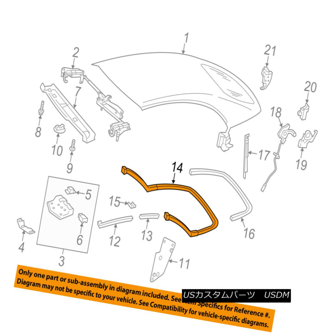 幌・ソフトトップ MERCEDES OEM 11-14 E350 Convertible/soft Top-Sealing Strip 2097700098 MERCEDES OEM 11-14 E350コンバーチブル/ so ftトップシーリングストリップ2097700098