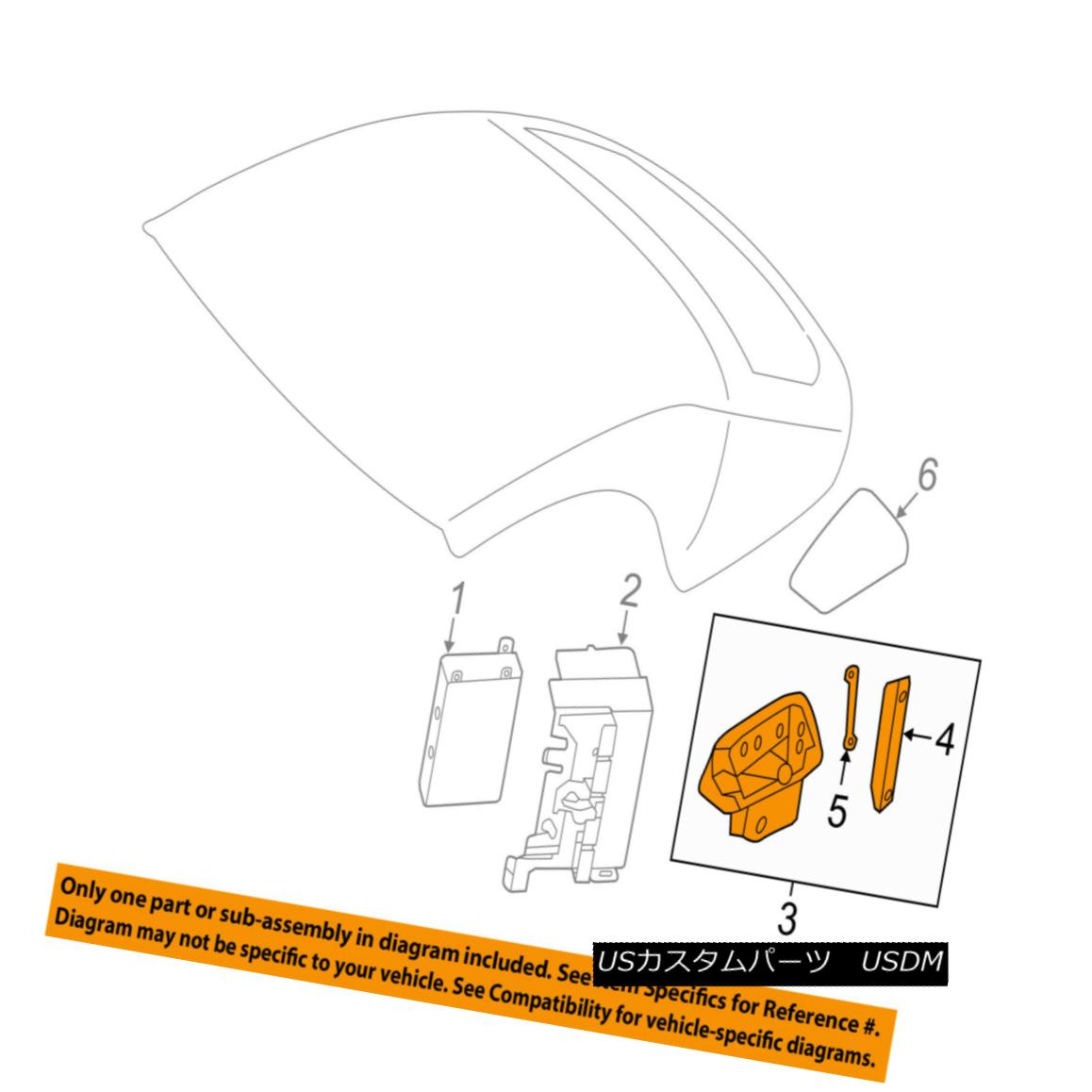幌・ソフトトップ AUDI OEM TT Quattro Control Unit-Convertible/soft Top-Flap Right 8S7871992A AUDI OEM TTクワトロコントロールユニット - コンバ - トブロツク/ソフトトップフラップライト8S7871992A