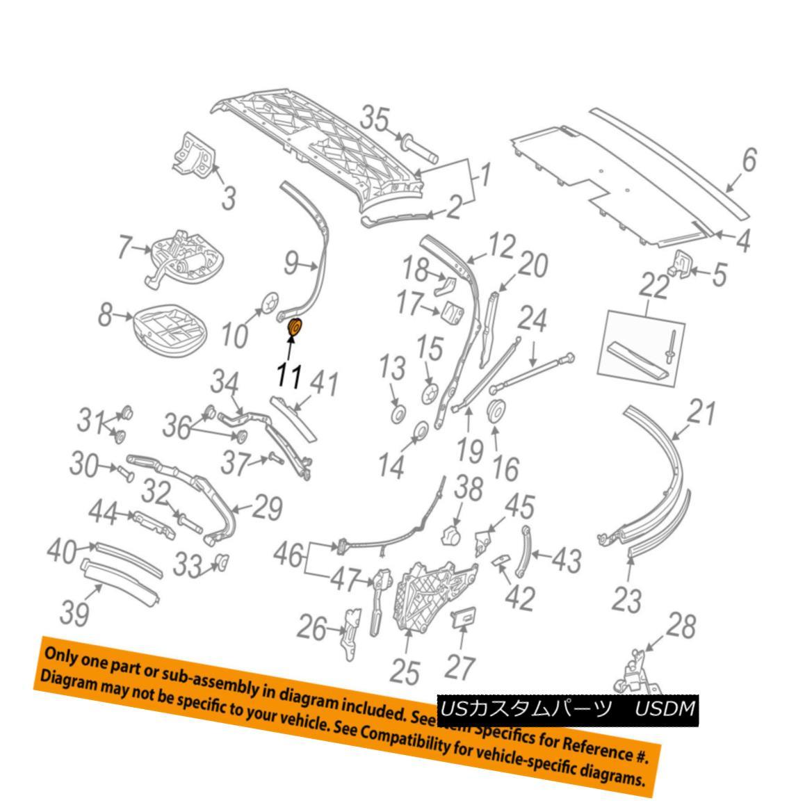 幌・ソフトトップ PORSCHE OEM 99-13 911 Convertible/soft Top-Front Bow Bushing 99992412240 PORSCHE OEM 99-13 911コンバーチブル/ so ftトップフロントボウブッシング99992412240
