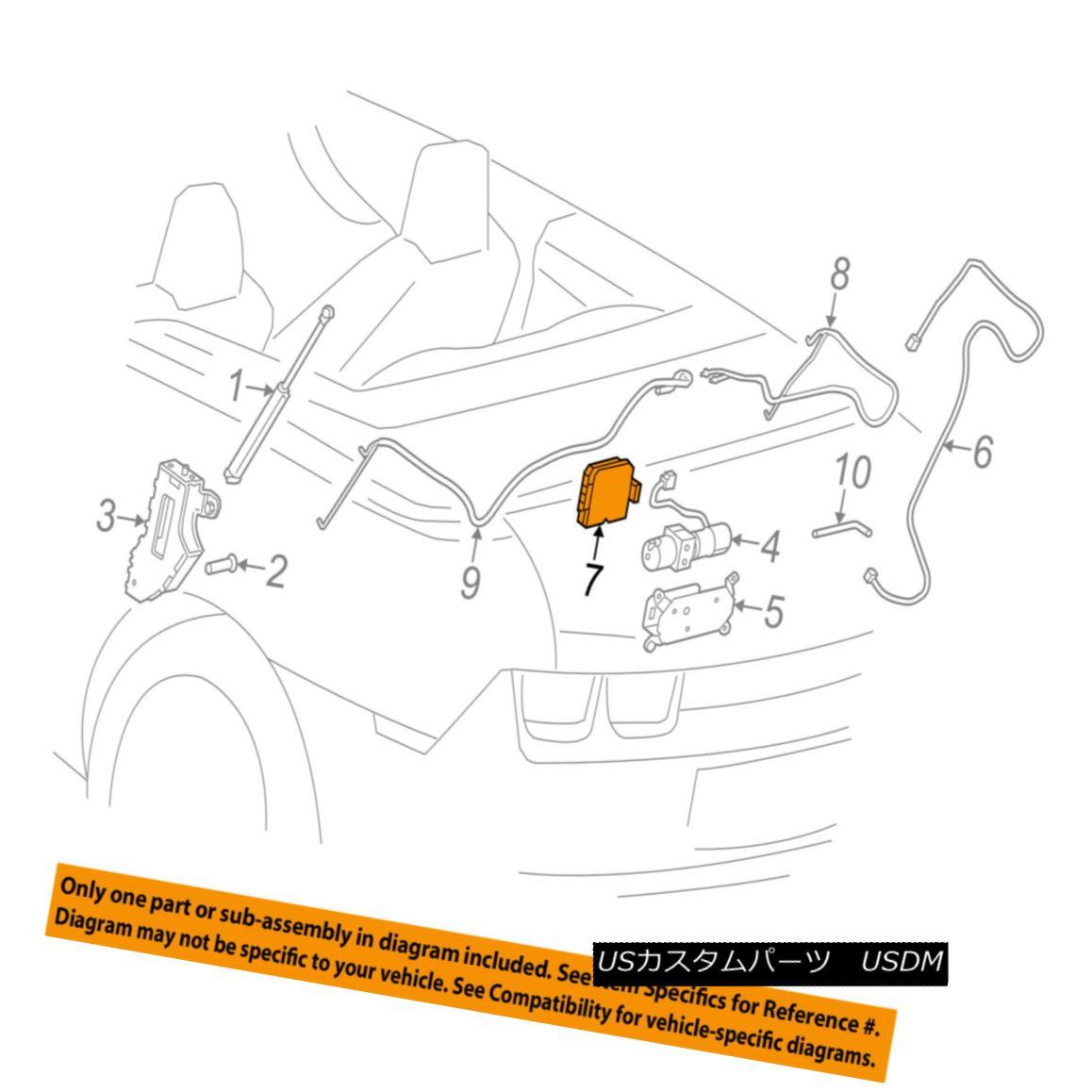 幌・ソフトトップ Chevrolet GM OEM 11-15 Camaro Motor-Convertible/soft Top-Control Module 22801380 Chevrolet GM OEM 11-15カマロモーターコンバーチブル/ソフトトップコントロールモジュール22801380