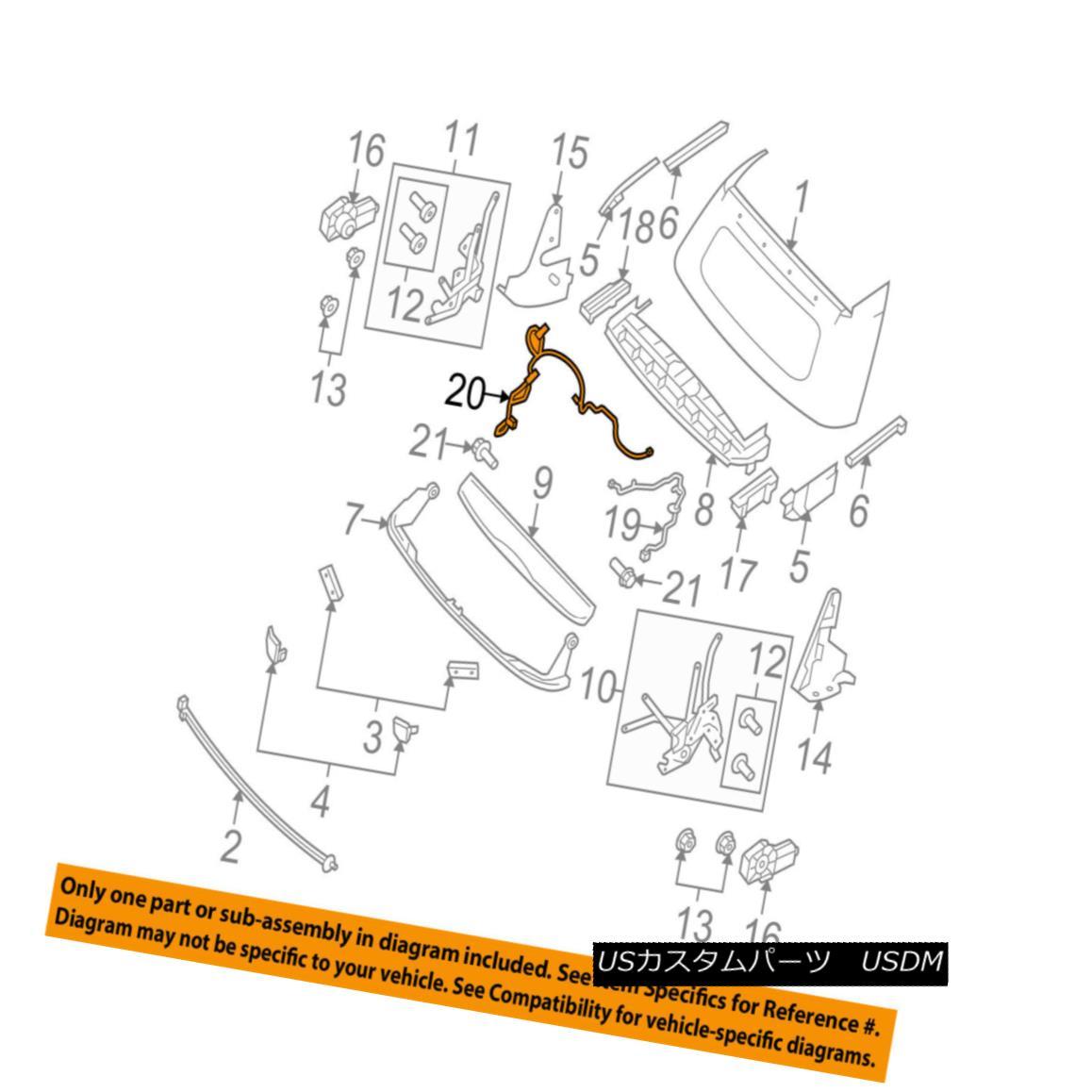 幌・ソフトトップ SMART OEM 08-16 Fortwo Convertible/soft Top-Wire Harness Left 4518200104 スマートOEM 08-16 Fortwo Convertible / so ftトップワイヤハーネス左4518200104
