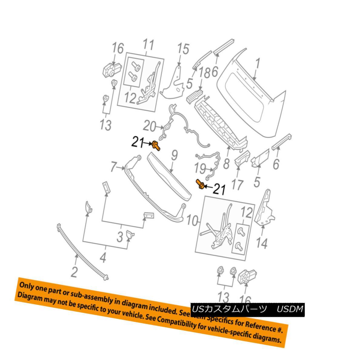 幌・ソフトトップ SMART OEM 08-16 Fortwo Convertible/soft Top-Wire Harness Fastener 4517760241 スマートOEM 08-16 Fortwo Convertible / so ftトップワイヤーハーネスファスナー4517760241