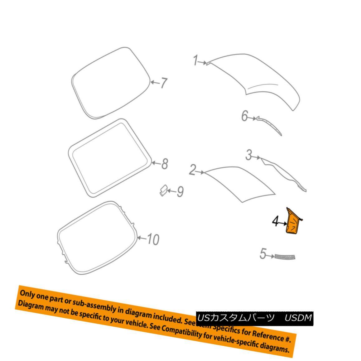 幌・ソフトトップ PORSCHE OEM 09-13 911 Convertible/soft Top-Storage Bag Right 99756109602A21 ポルシェOEM 09-13 911コンバーチブル/ so ftトップ収納袋右99756109602A21