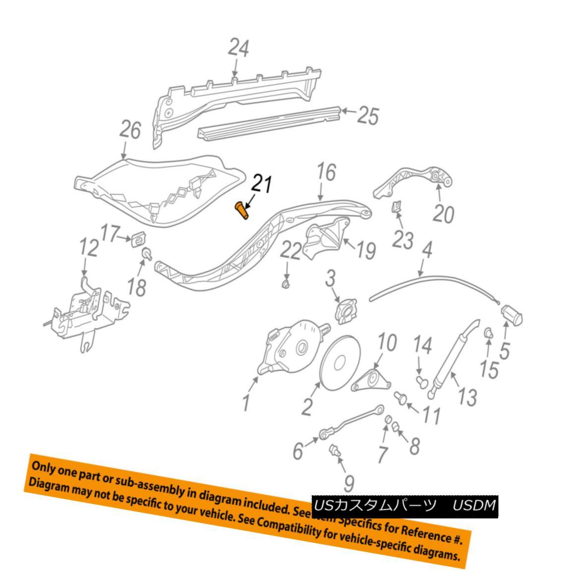幌・ソフトトップ PORSCHE OEM Boxster Motor-Convertible/soft Top-Hinge Plate Bolt 99908802730 PORSCHE OEMボクスターモーターコンバーチブルble /ソフトトップヒンジプレートボルト99908802730