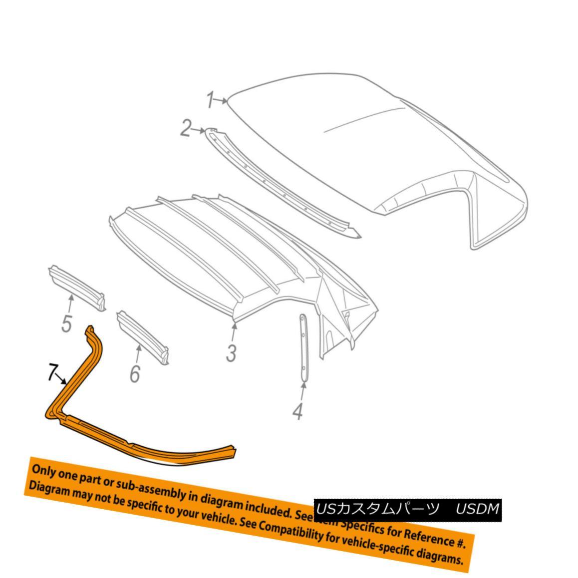 幌・ソフトトップ Chevrolet GM OEM 14-17 Corvette Convertible/soft Top-Lower Seal 22859616 Chevrolet GM OEM 14-17コルベット・コンバーチブル/ so ftトップ・ロア・シール22859616