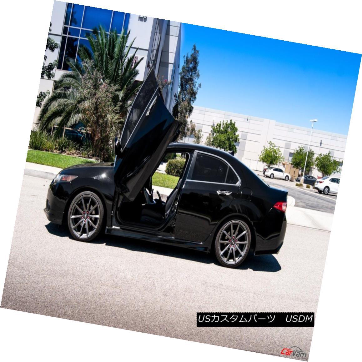 ガルウィングキット Vertical Doors - Vertical Lambo Door Kit For Acura TSX 2009-14 4DR -VDCATSX0914 垂直ドア - アキュラTSX 2009-14 4DRのための垂直ランボルフトドアキット-VDCATSX0914