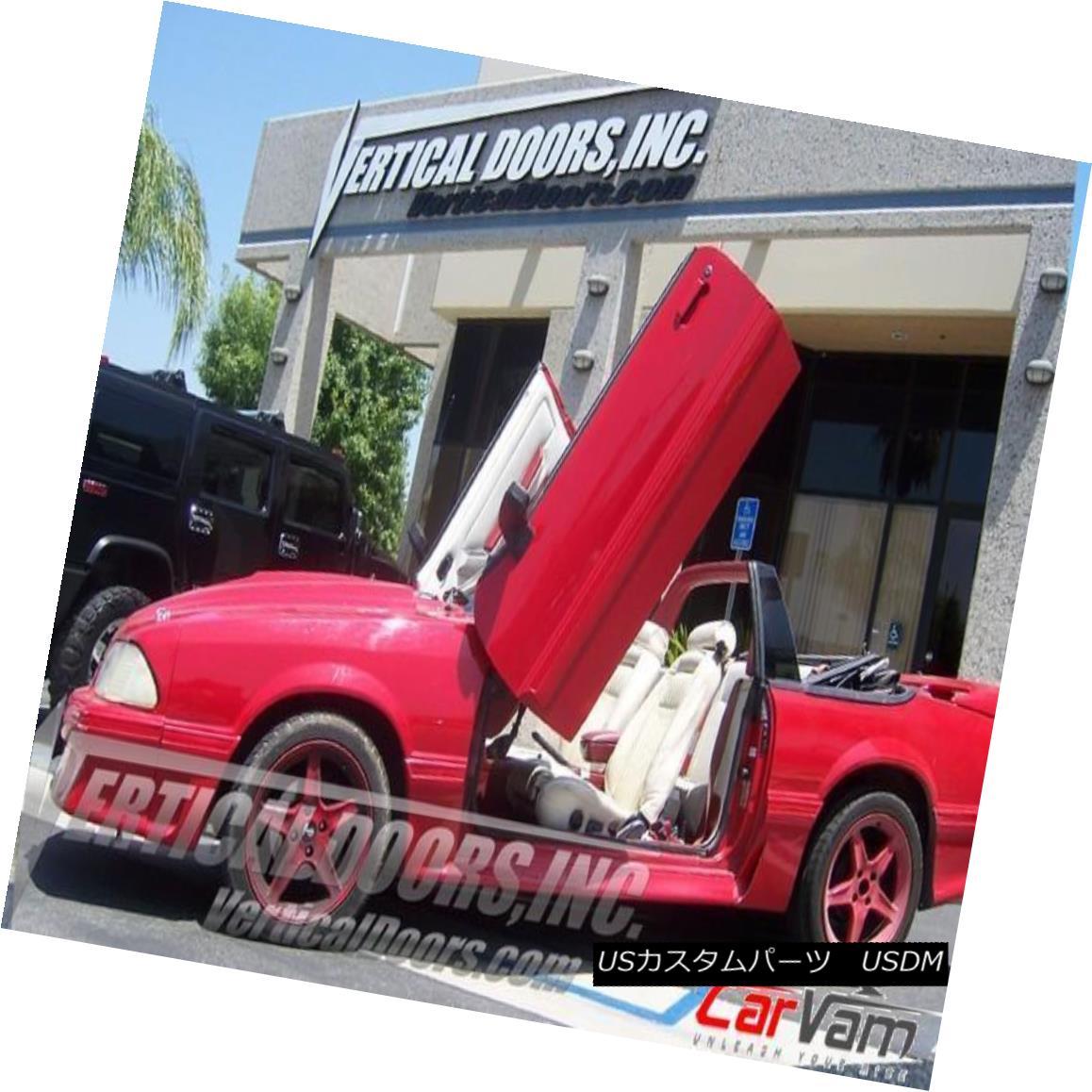 ガルウィングキット Vertical Doors - Vertical Lambo Door Kit For Ford Mustang 1979-93 2DR -VDCFM7993 垂直ドア - フォードマスタング1979-93 2DRのための垂直のランボルギーニドアキット--VDCFM7993