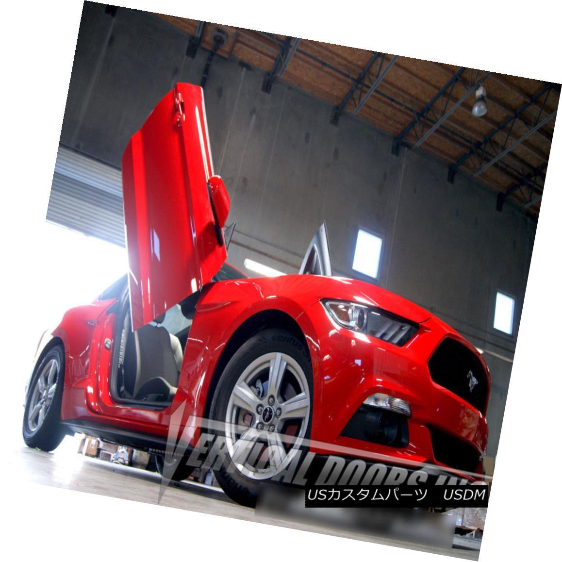 【50%OFF】 ガルウィングキット Vertical Doors Inc Bolt On Lambo Door Kits for Ford Mustang 2015-2016 フォードマスタング2015-2016のためのランボルギーナドアのボルトの垂直ドアIncのボルト, jsparadise a34c286e