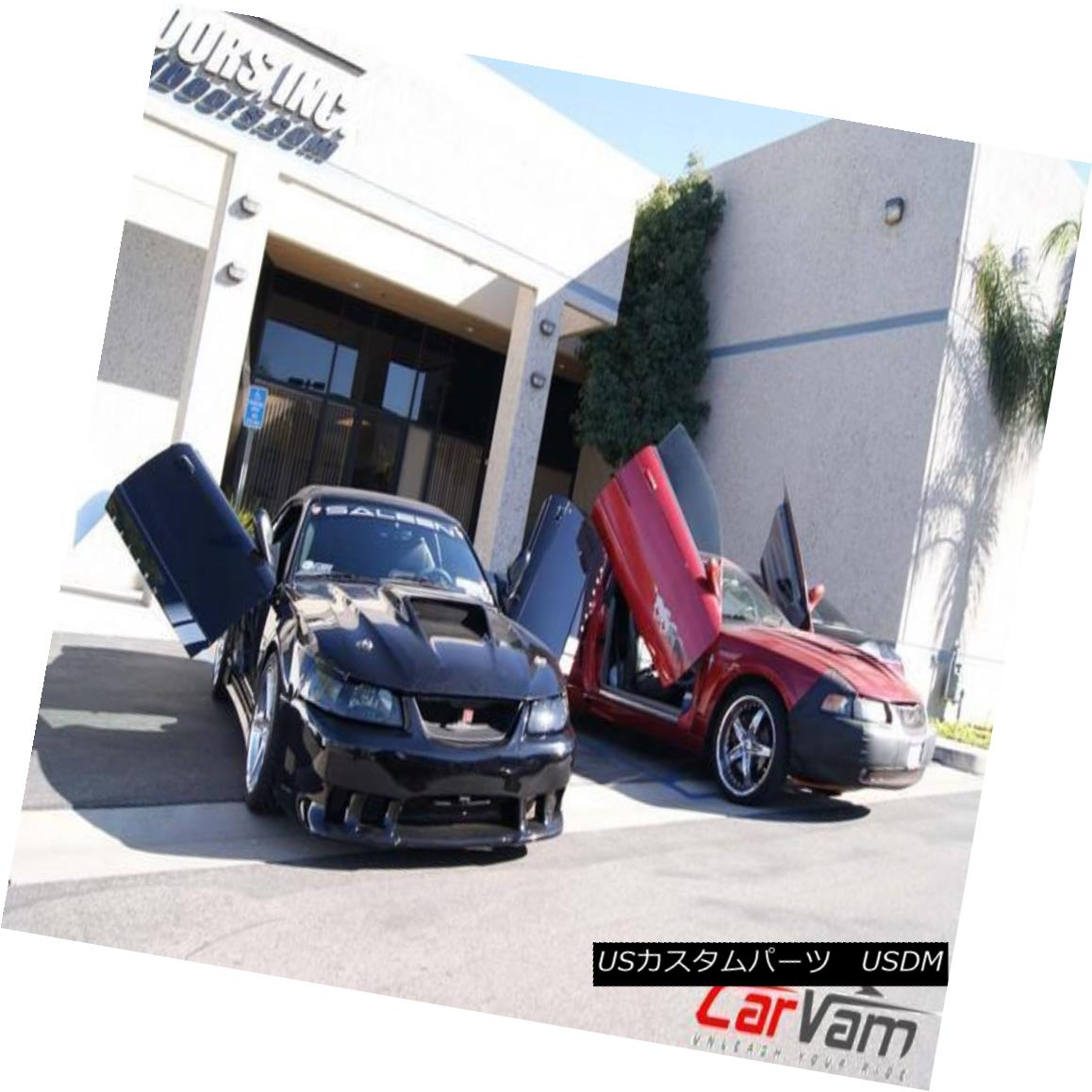 ガルウィングキット Vertical Doors - Vertical Lambo Door Kit For Ford Mustang 1999-04 垂直ドア - フォードマスタングのための垂直型ランボルギーニドアキット1999-04