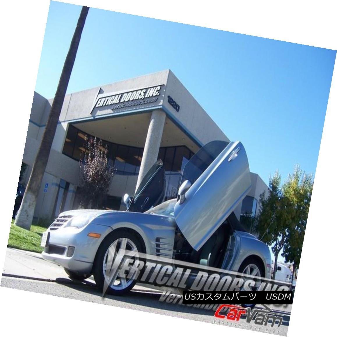 ガルウィングキット Vertical Doors - Vertical Lambo Door Kit For Chrysler Crossfire 2004-08 2DR 垂直ドア - クライスラーCrossfire 2004-08 2DRのための垂直Lamboドアキット