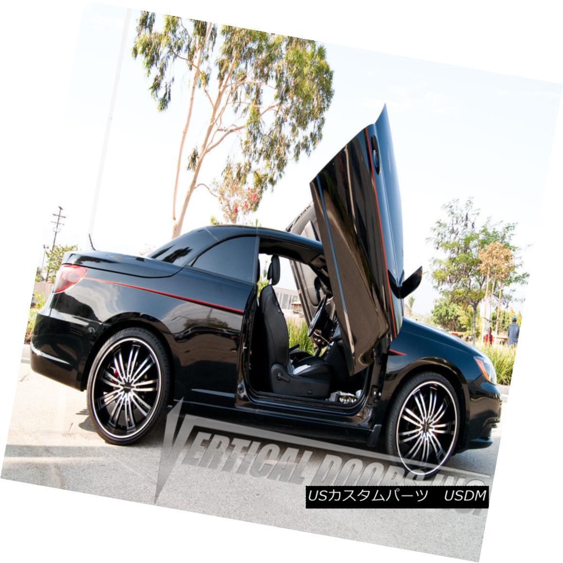ガルウィングキット Vertical Doors Inc Bolt On Lambo Door Kits for Chrysler 200 2011-2014 Vertical Doors Incクライスラー200 2011-2014用のランボルギーニドアキットのボルト