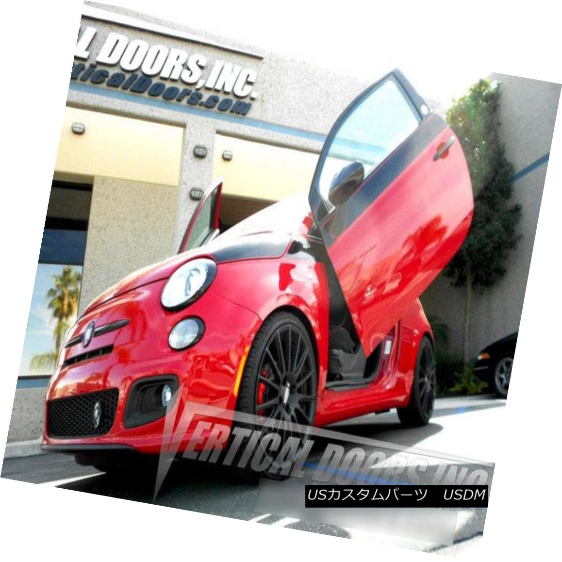 ガルウィングキット Vertical Doors Inc. Bolt-On Lambo Kit for Fiat 500 11-12 Vertical Doors Inc.フィアット500用ボルトオンランボキット11-12