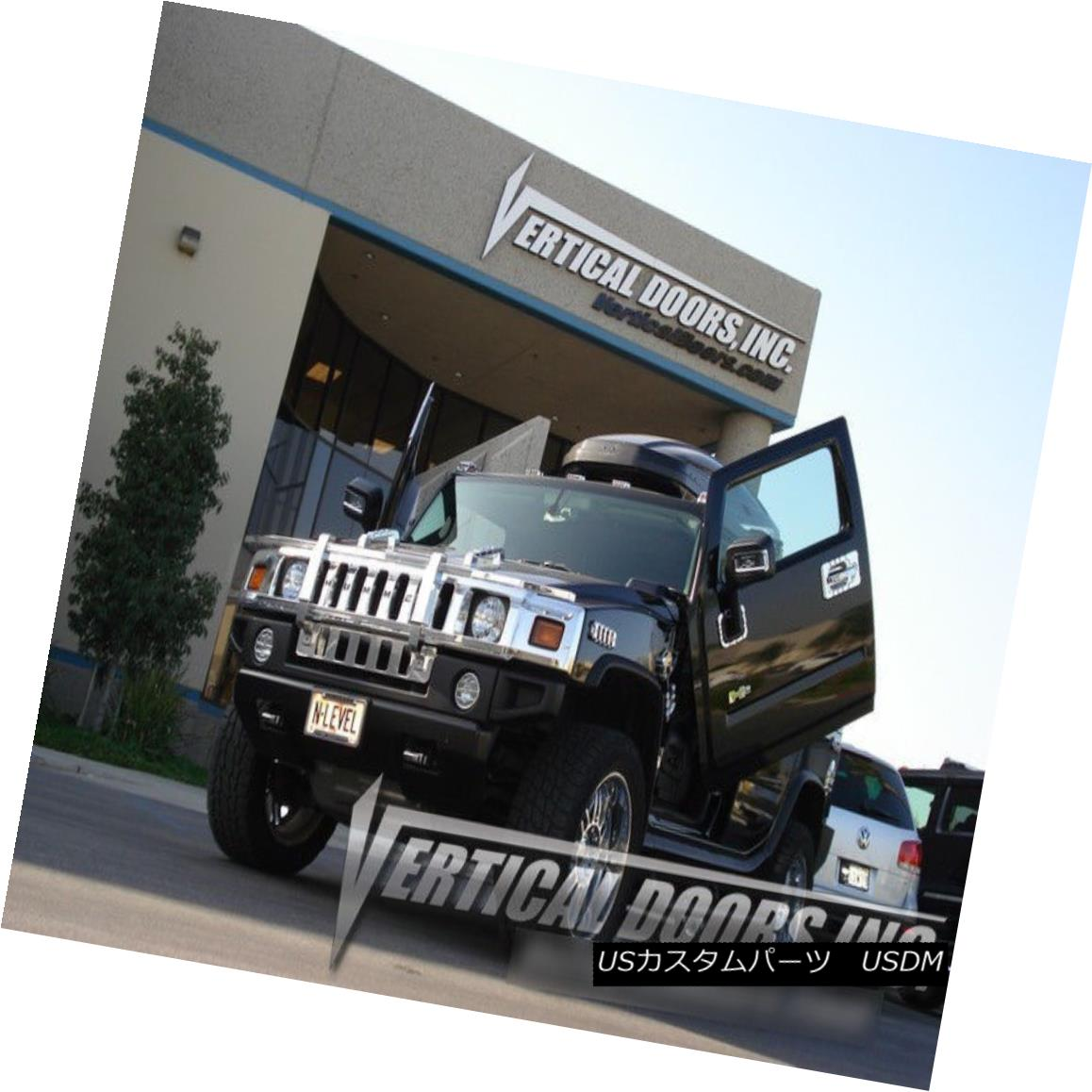 ガルウィングキット Vertical Doors Inc. Bolt-On Lambo Kit for Hummer H2 03-09 Vertical Doors Inc. Hummer H2用Bolt-On Lamboキット03-09