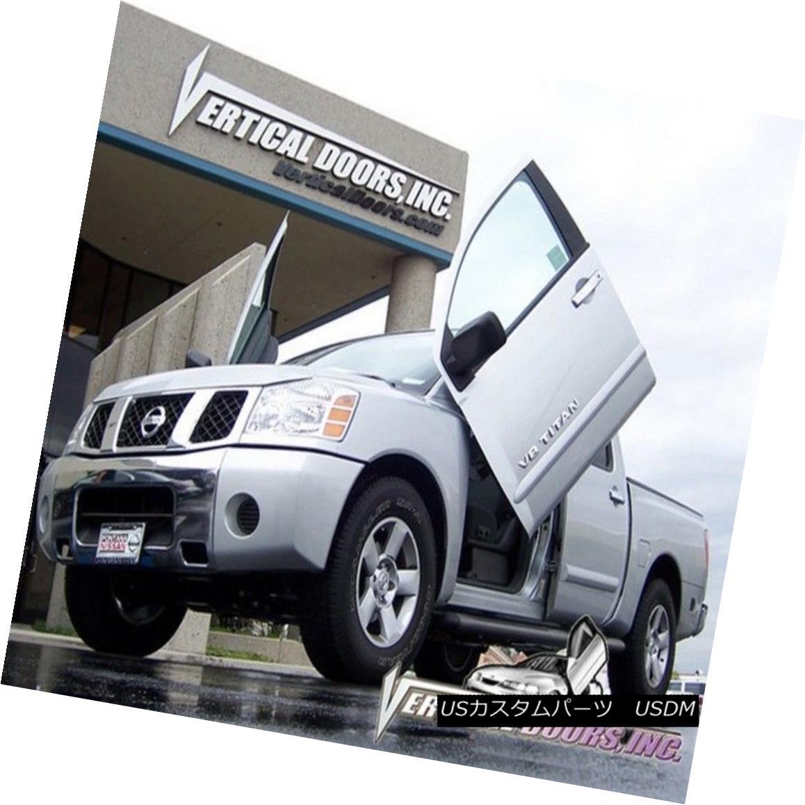 ガルウィングキット Vertical Doors Inc. Bolt-On Lambo Kit for Nissan Titan 05-10 Vertical Doors Inc.日産タイタン用Bolt-On Lamboキット05-10