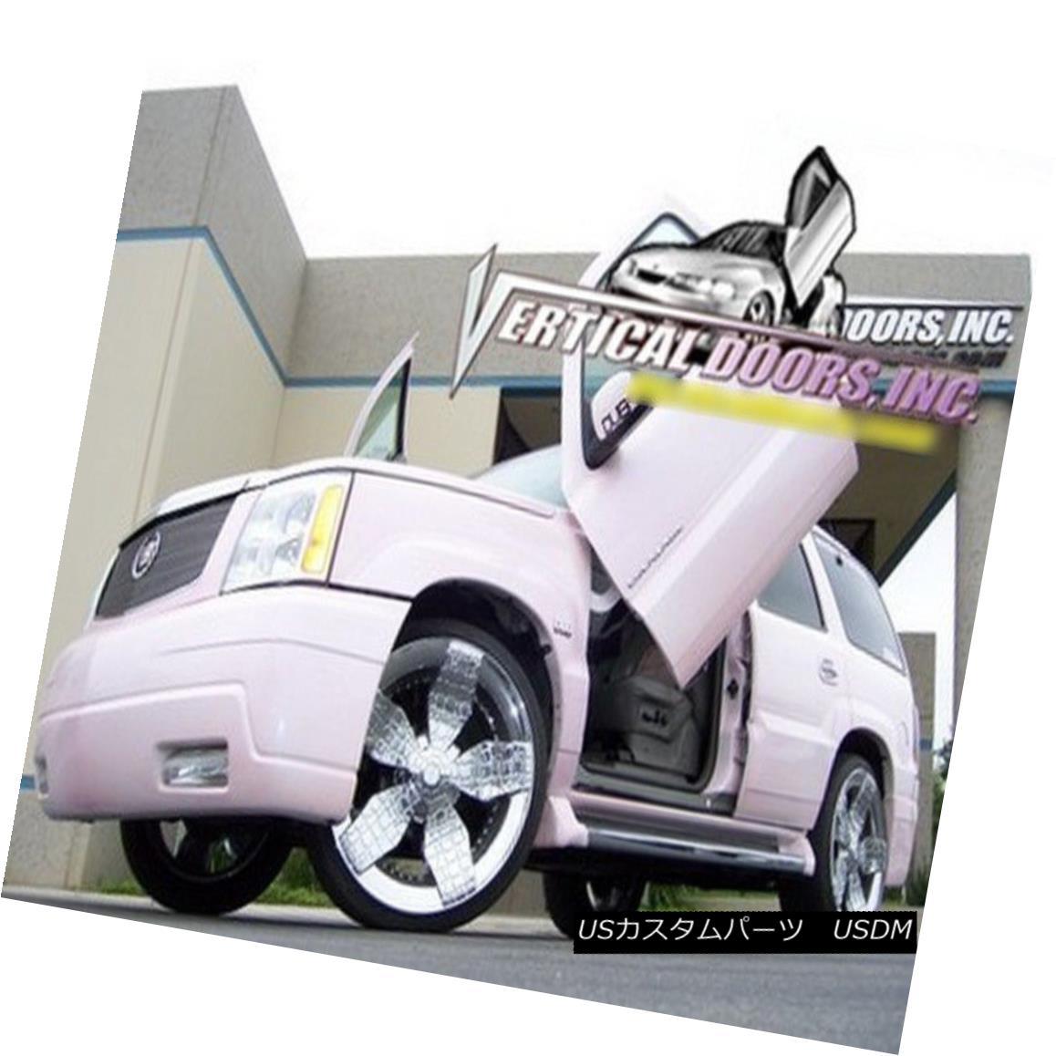 ガルウィングキット Vertical Doors Inc. Bolt-On Lambo Kit for Cadillac Escalade 02-06 Vertical Doors Inc.キャデラック・エスカレードのボルトオン・ランボキット02-06