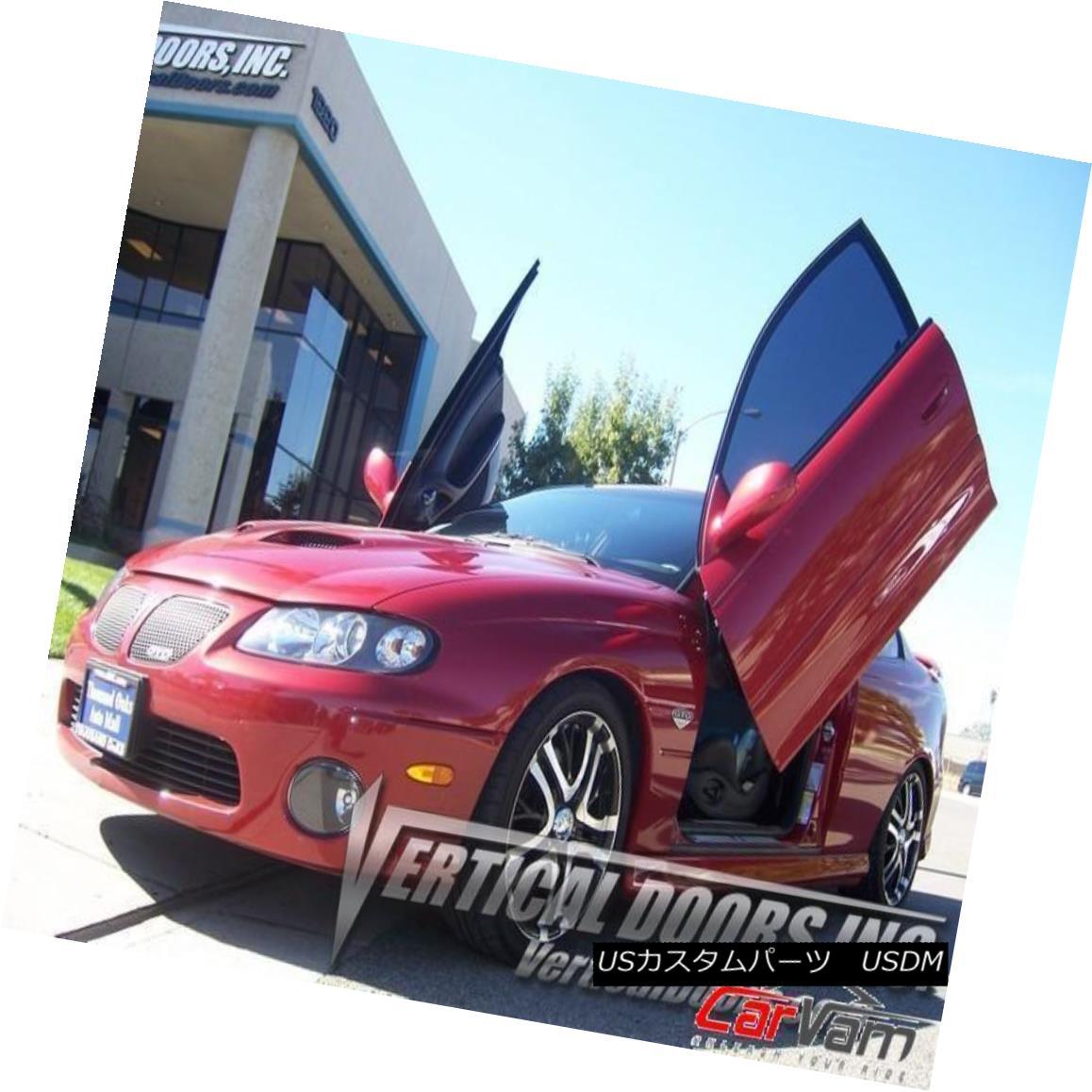 ガルウィングキット Vertical Doors - Vertical Lambo Door Kit For Pontiac GTO 2004-06 -VDCPONGTO0406 垂直ドア - ポンティアックGTO 2004-06のための垂直ランボルフトドアキット--VDCPONGTO0406