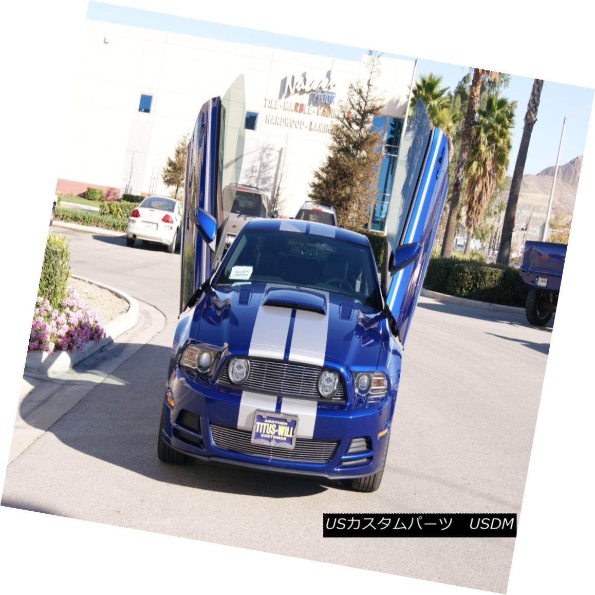ガルウィングキット Ford Mustang 11-14 Lambo Style door kit By Vertical Doors INC フォードマスタング11-14 Lambo StyleドアキットBy Vertical Doors INC