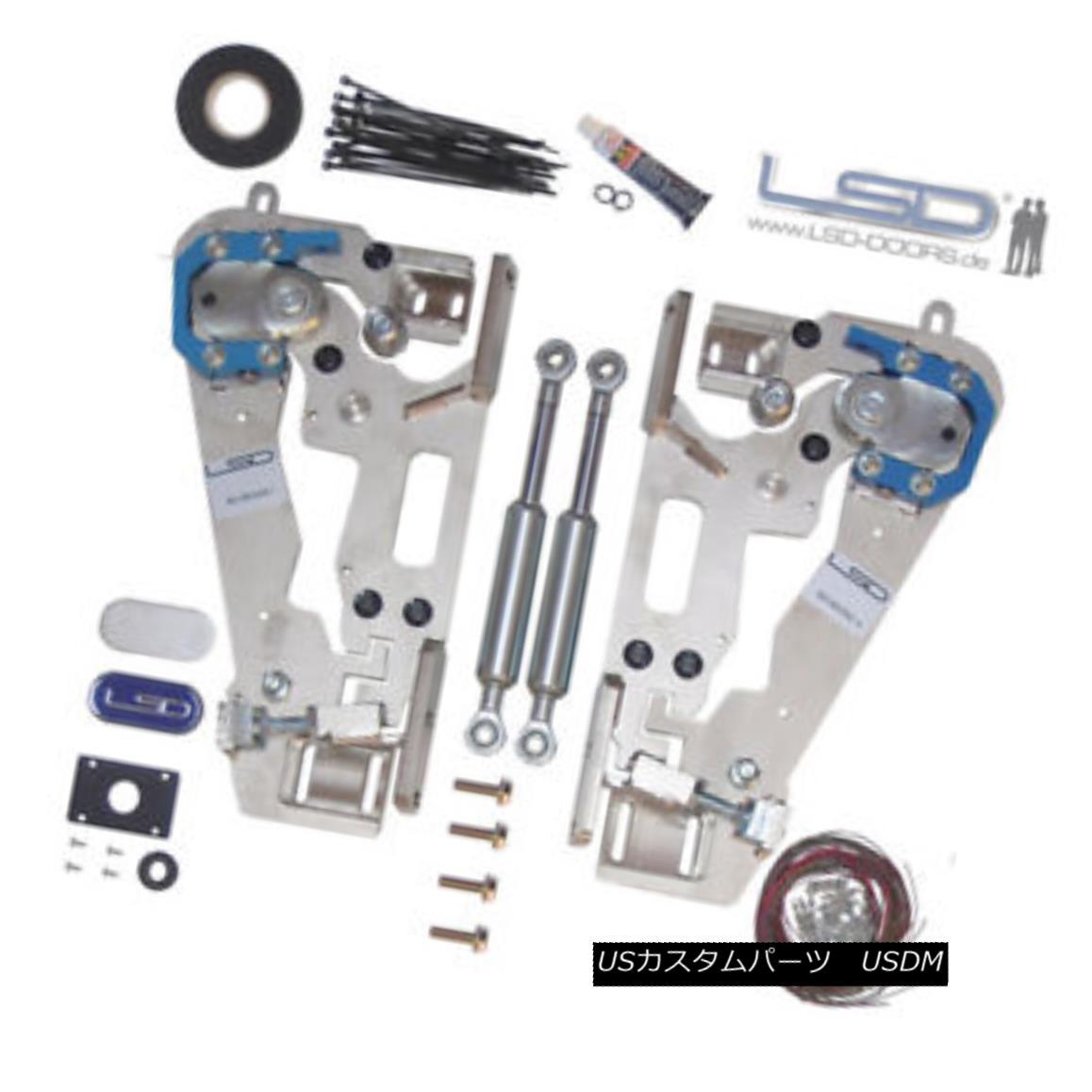 ガルウィングキット LSD Doors Lambo Style for Nissan GT-R R35 Vertical Door Kit 50085002 . 日産GT-R R35用垂直ドアキット50085002のためのLSDドアランボルギー様式。