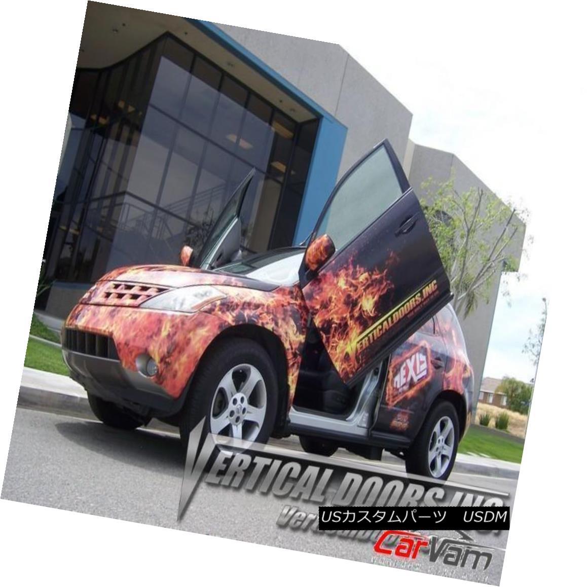 ガルウィングキット Vertical Doors - Vertical Lambo Door Kit For Nissan Murano 2003-07 -VDCNMUR0307 垂直ドア - 日産ムラーノ用の垂直型ランボルギーニドアキット2003-07 -VDCNMUR0307