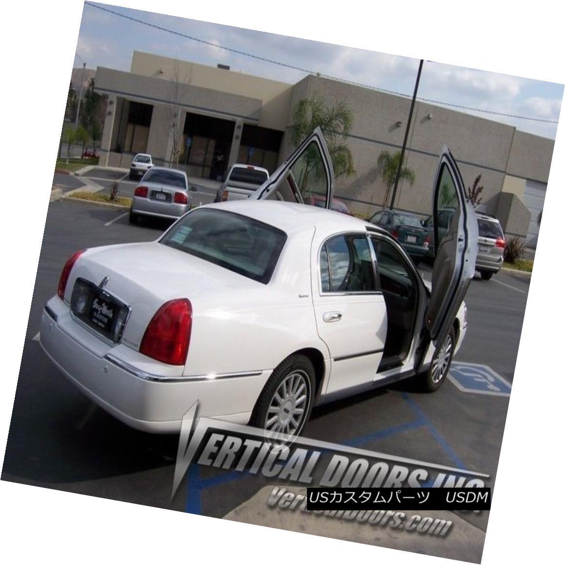 ガルウィングキット Lincoln Town Car 1998-2011 Vertical Doors Inc Lambo Door Kit 98-11 LSD Lincoln Town Car 1998-2011 Vertical Doors Inc Lamboドアキット98-11 LSD
