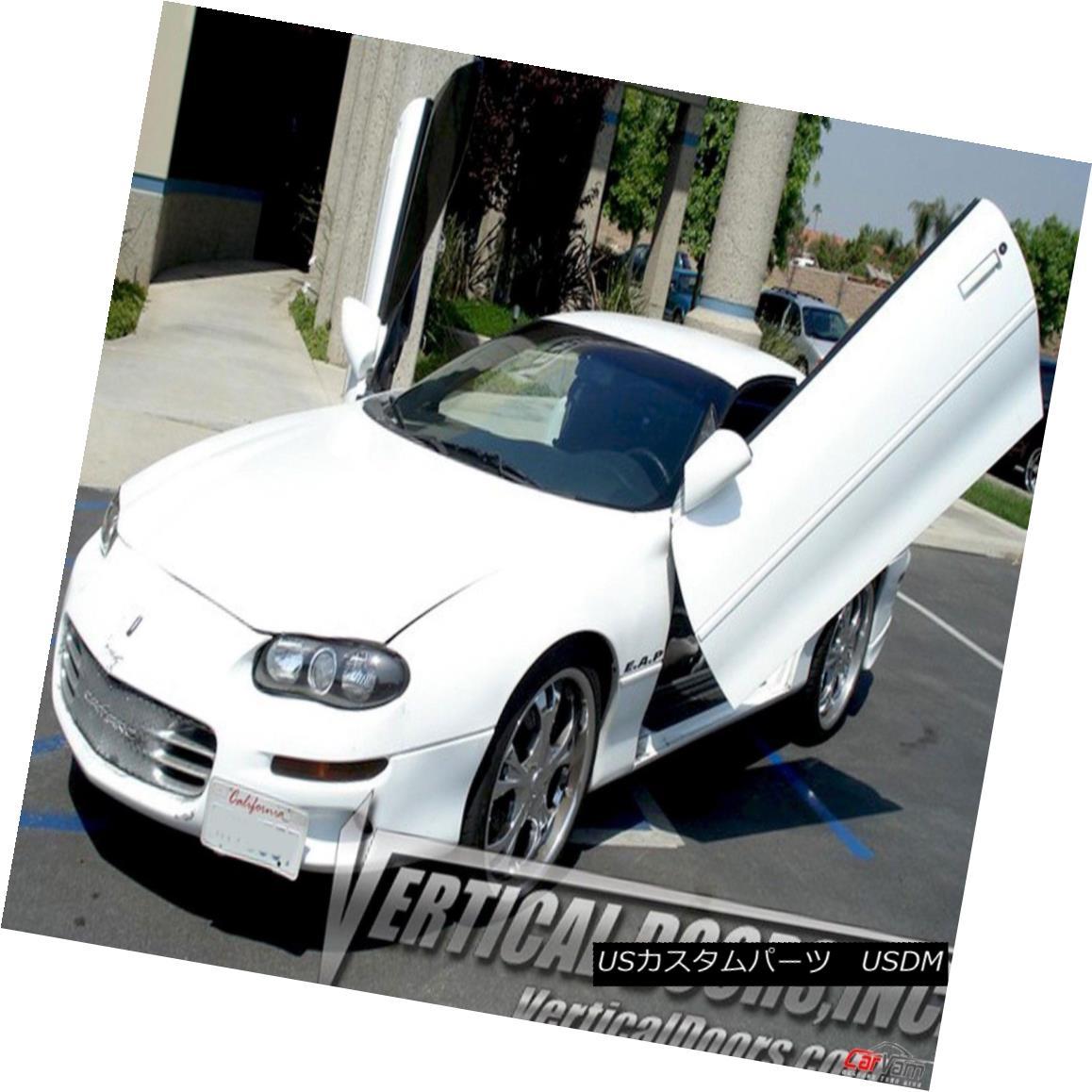 ガルウィングキット Vertical Doors - Vertical Lambo Door Kit For Chevrolet Camaro 1993-97 垂直ドア - シボレーカマロ用垂直ランボルフトドアキット1993-97